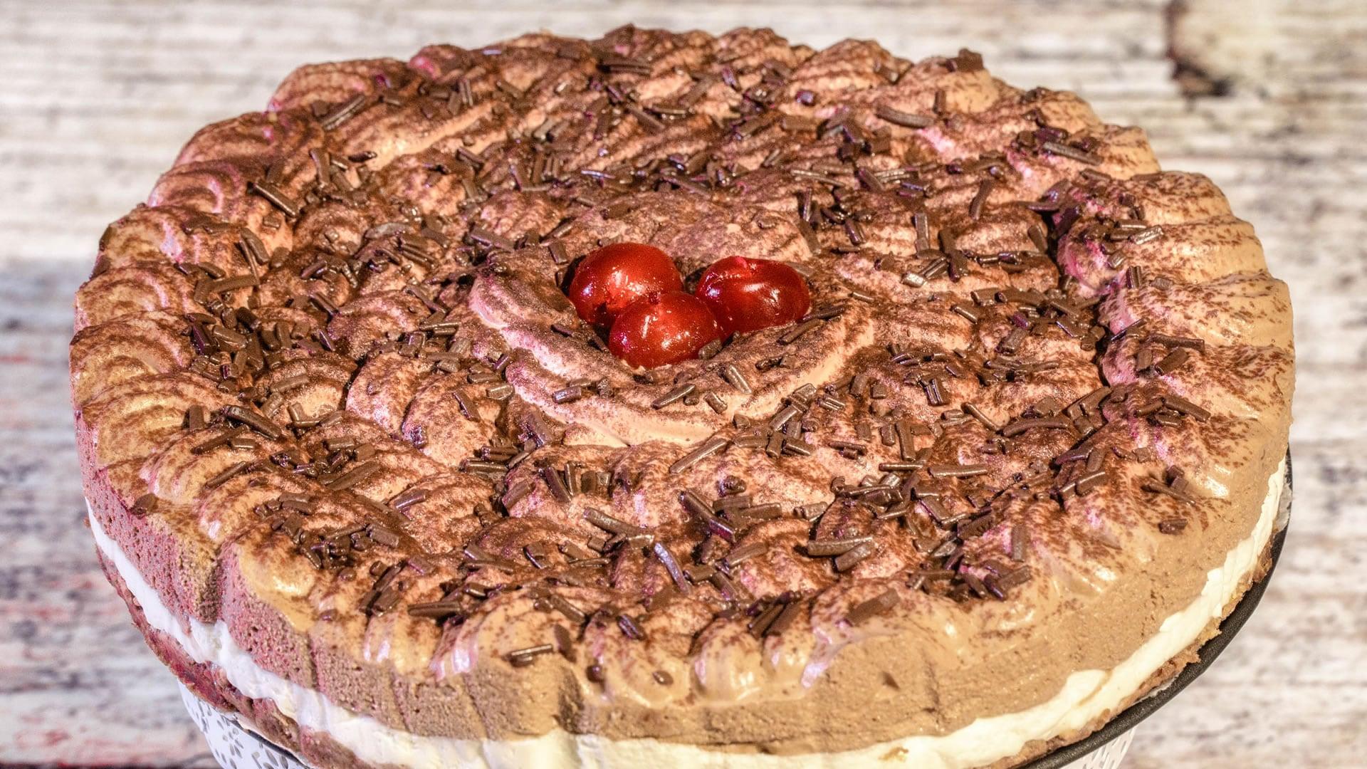 Foto Torta Fredda Ricotta e Cioccolato
