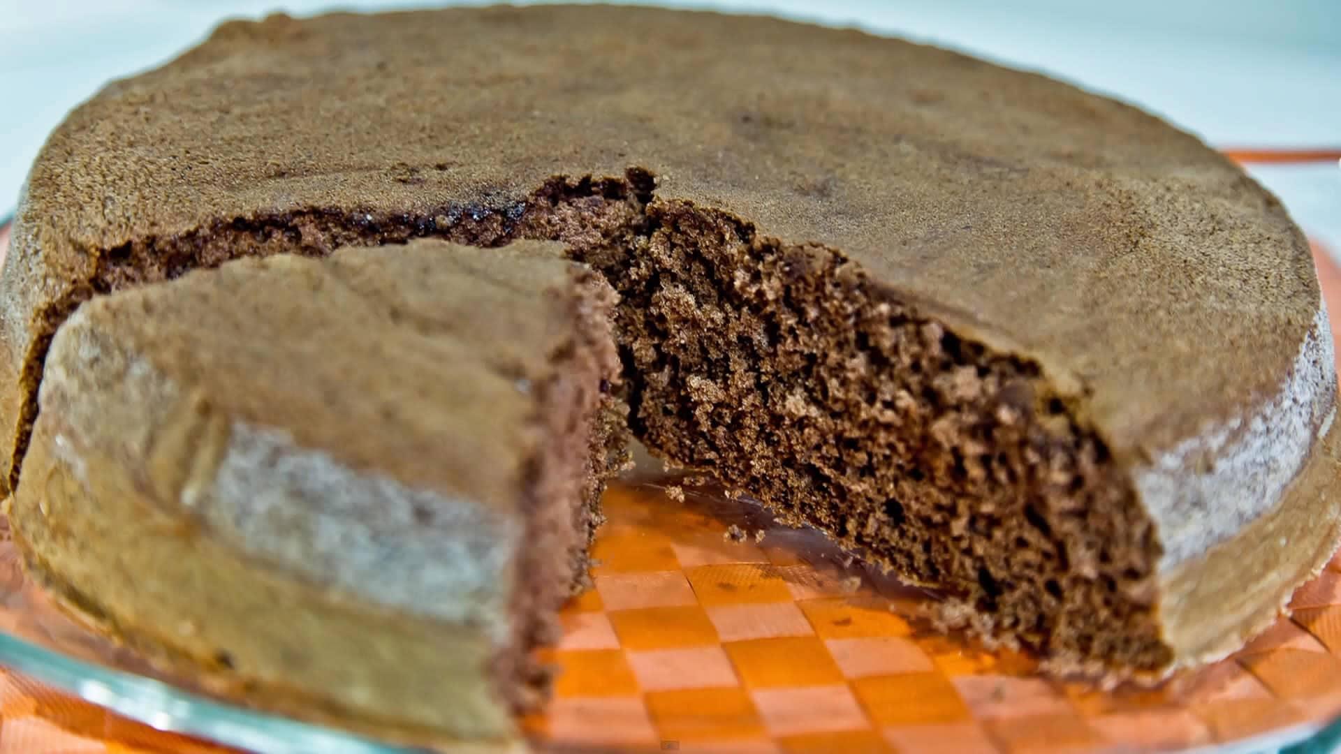 Foto Pan di spagna al cacao