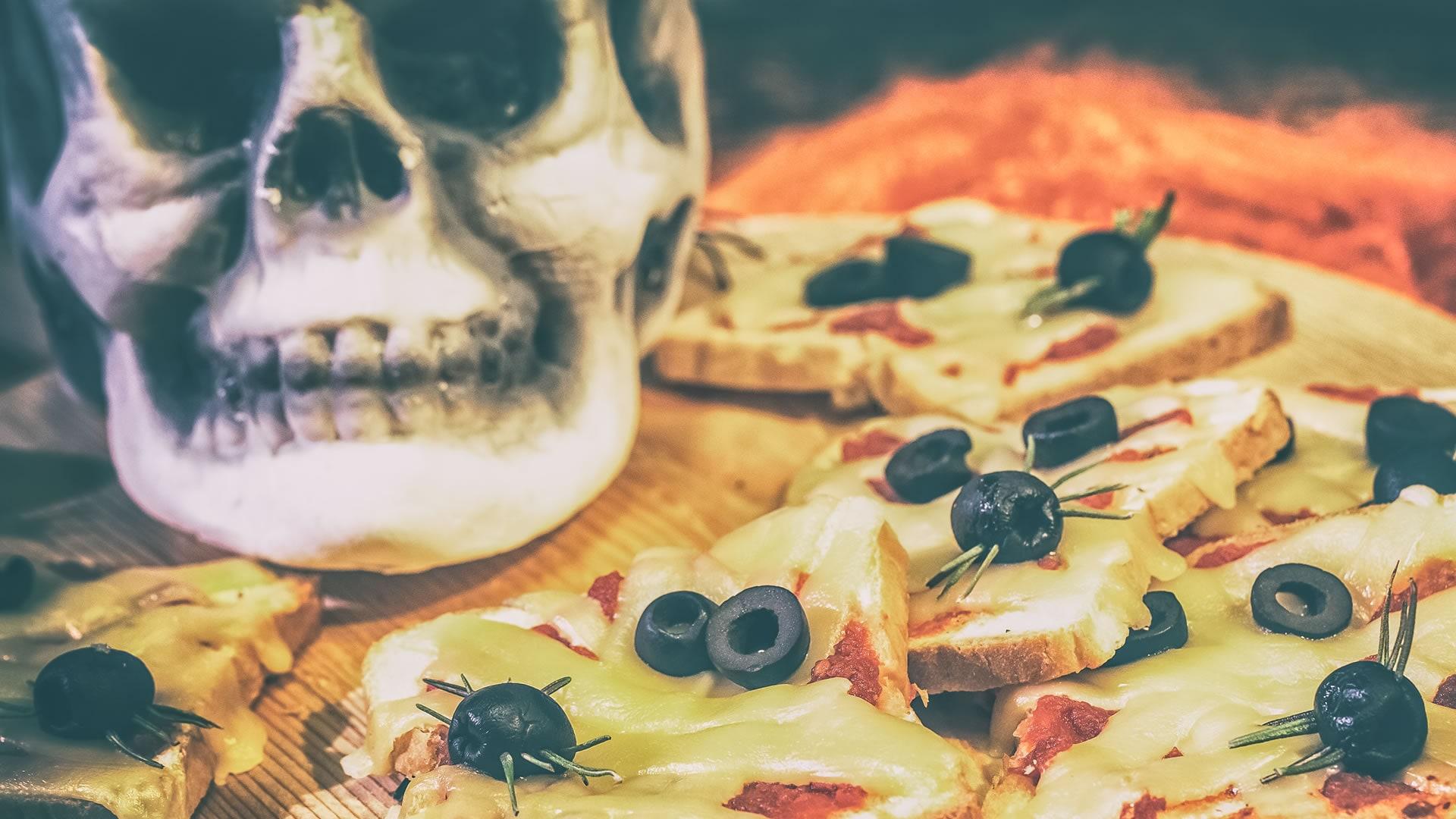 Foto Mummie di Toast per Halloween