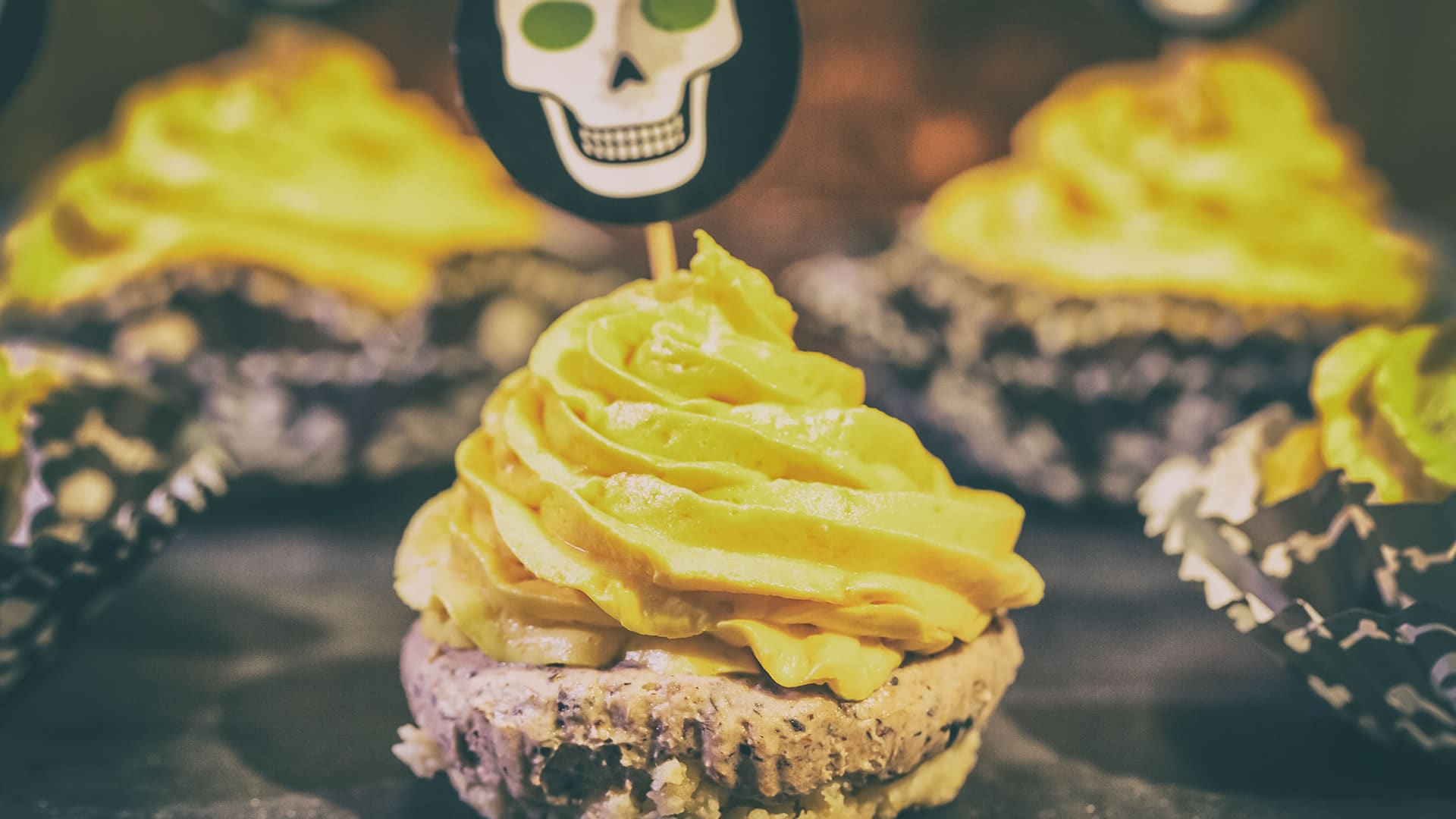 Foto Mini Cheesecake Salate di Halloween