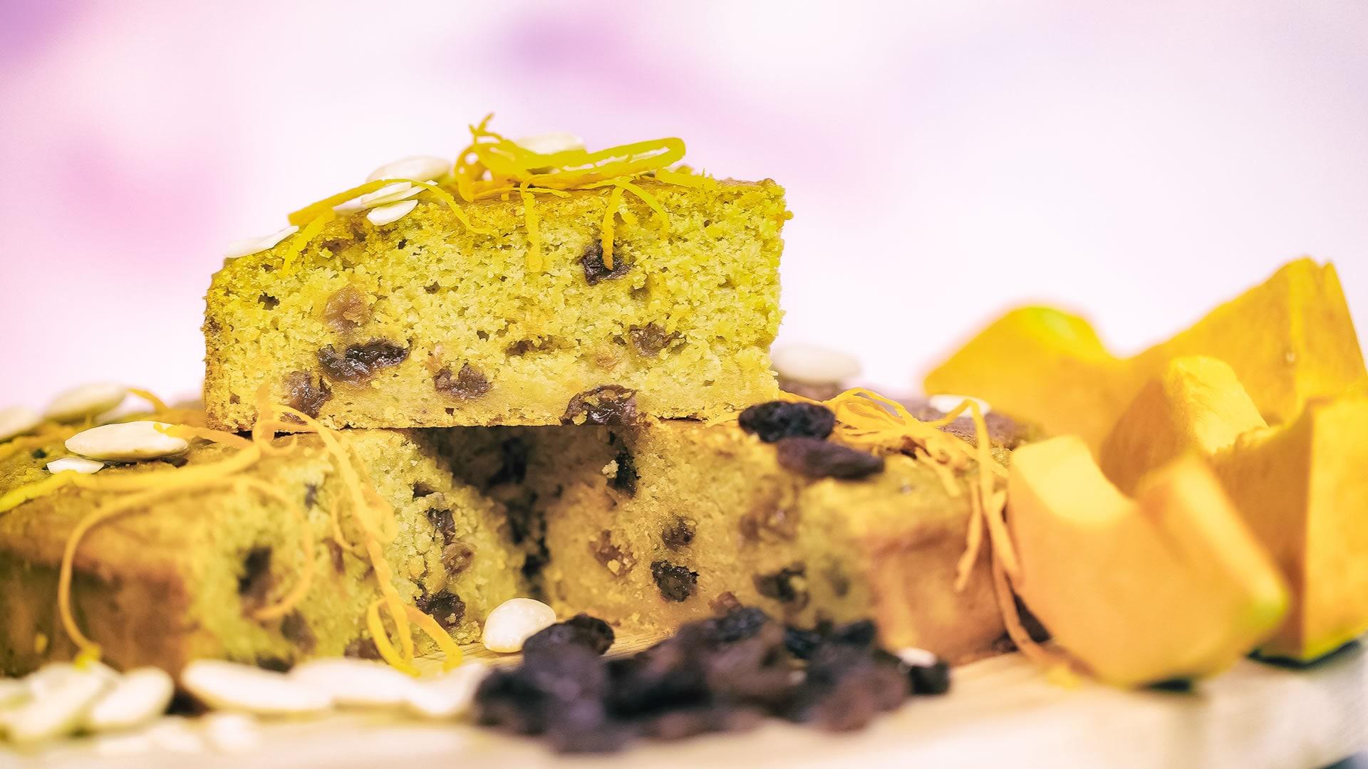 Foto Torta Strana con Zucca e Patate Dolci - Senza Zucchero, Burro, Uova