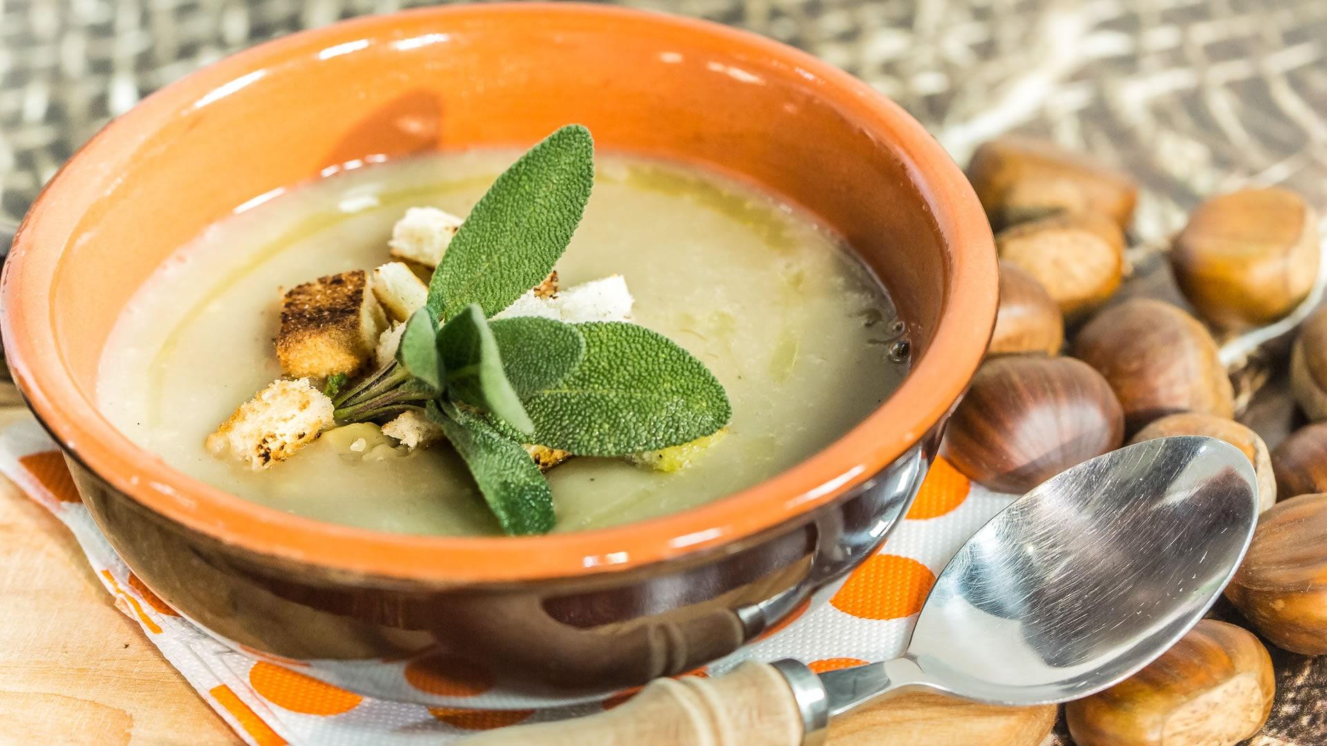 Foto Zuppa di Castagne e Patate