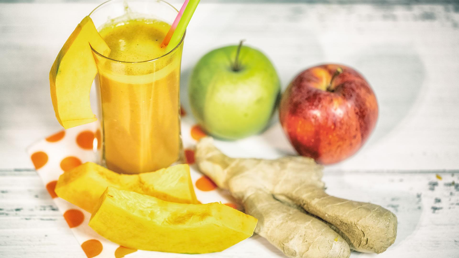 Foto Centrifugato Antiossidante alla Zucca