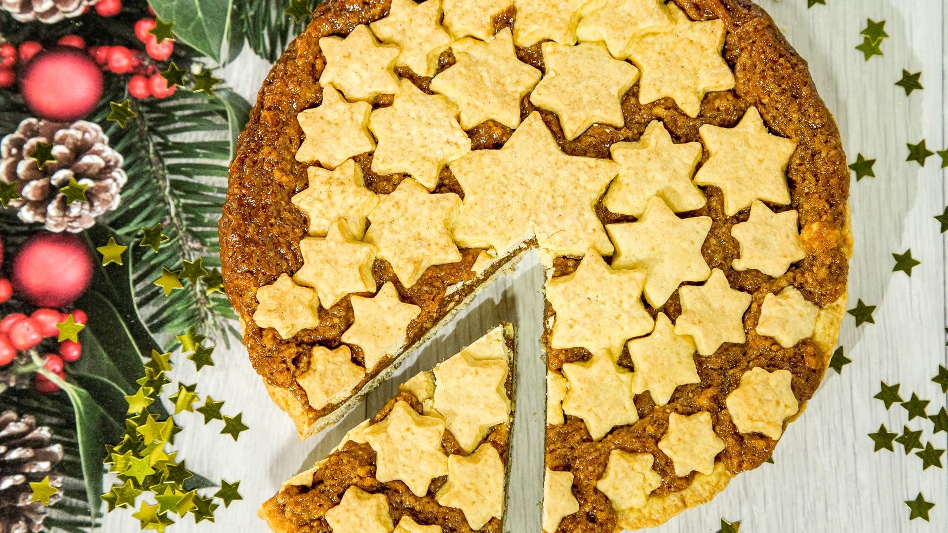 Foto Crostata al Mou e Frutta Secca - Torta Engadina