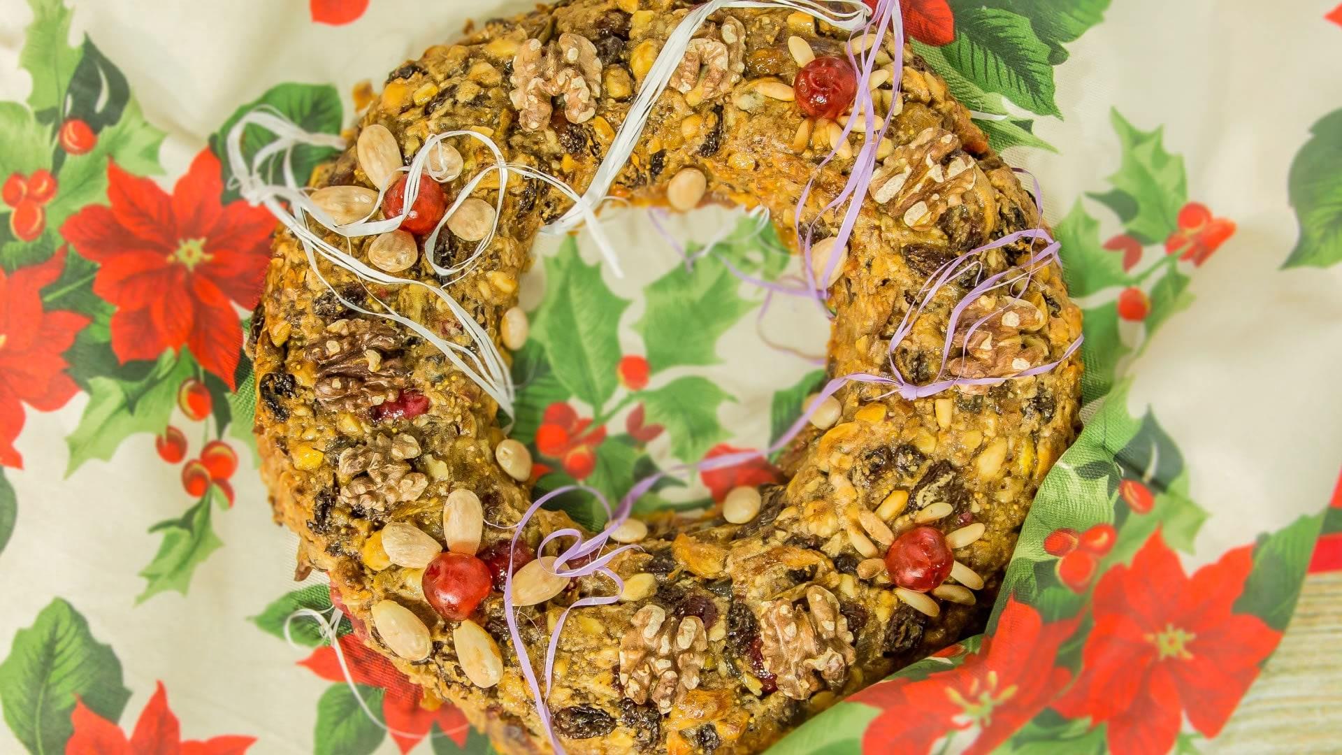 Foto Zelten - Dolce Natalizio con Frutta Secca, Canditi e Spezie