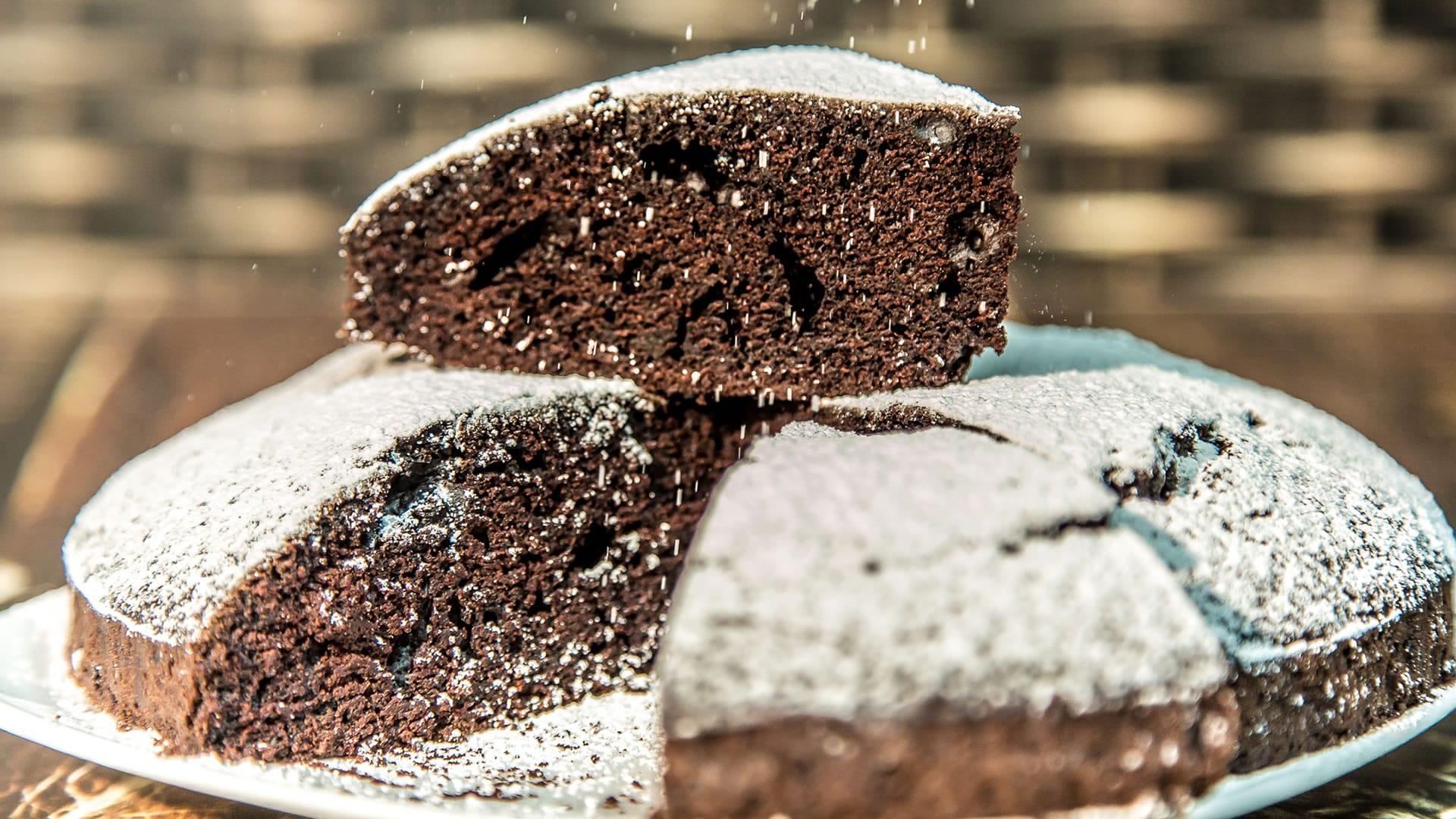 Foto Torta Matta - Crazy Cake Senza Uova, Burro, Latte, Lievito