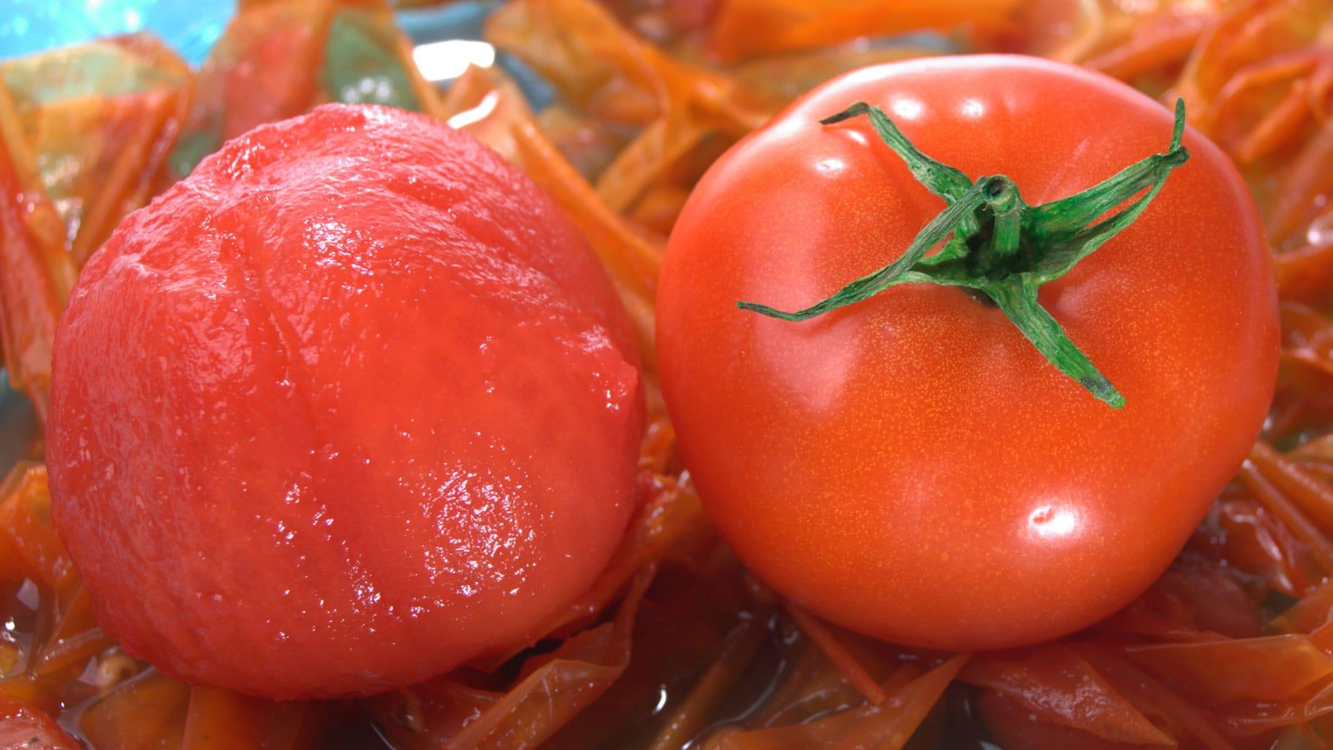 Foto Come Sbucciare i Pomodori con Acqua Bollente