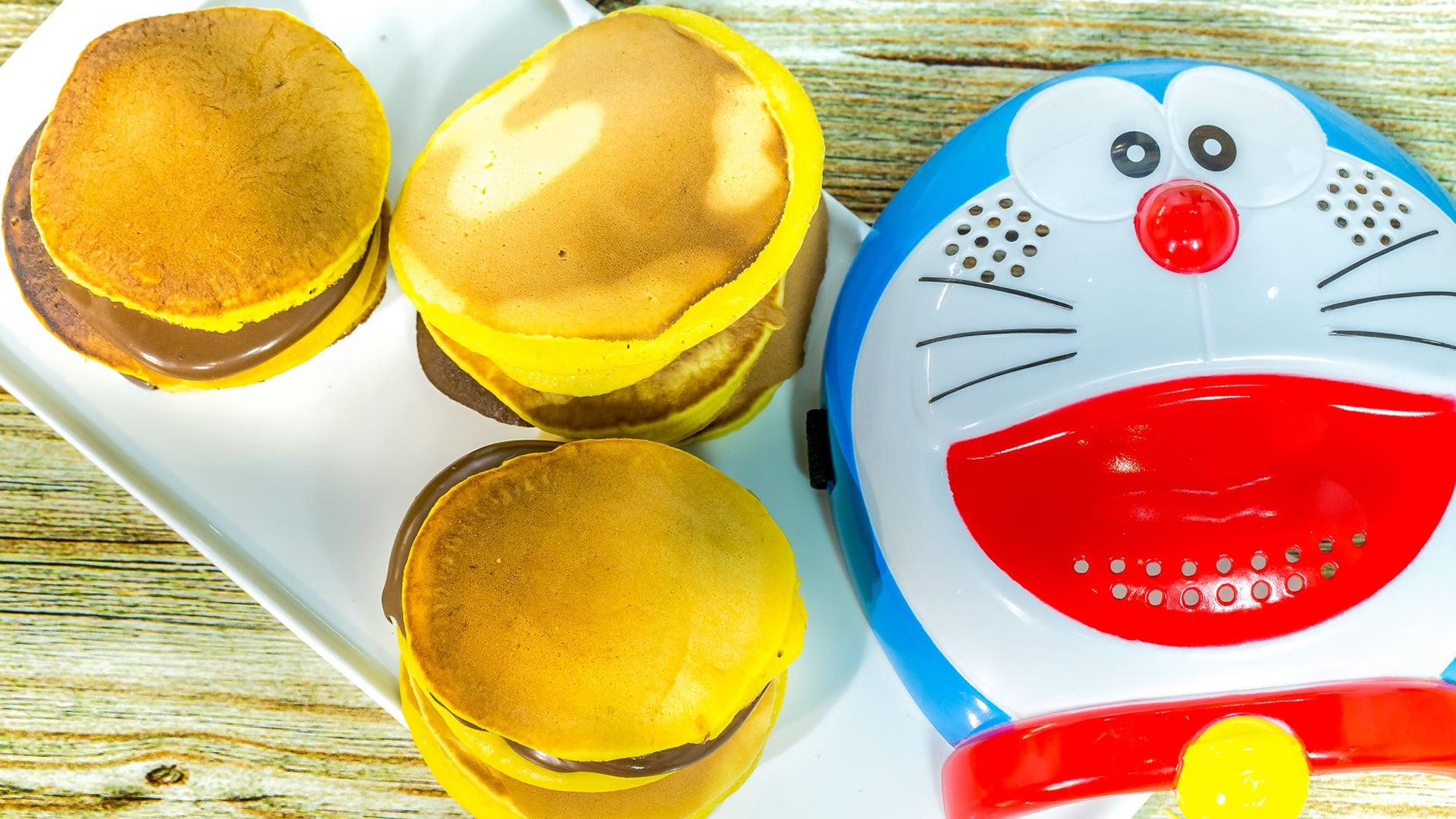 Foto Dorayaki - Pancake Ripieni di Doraemon