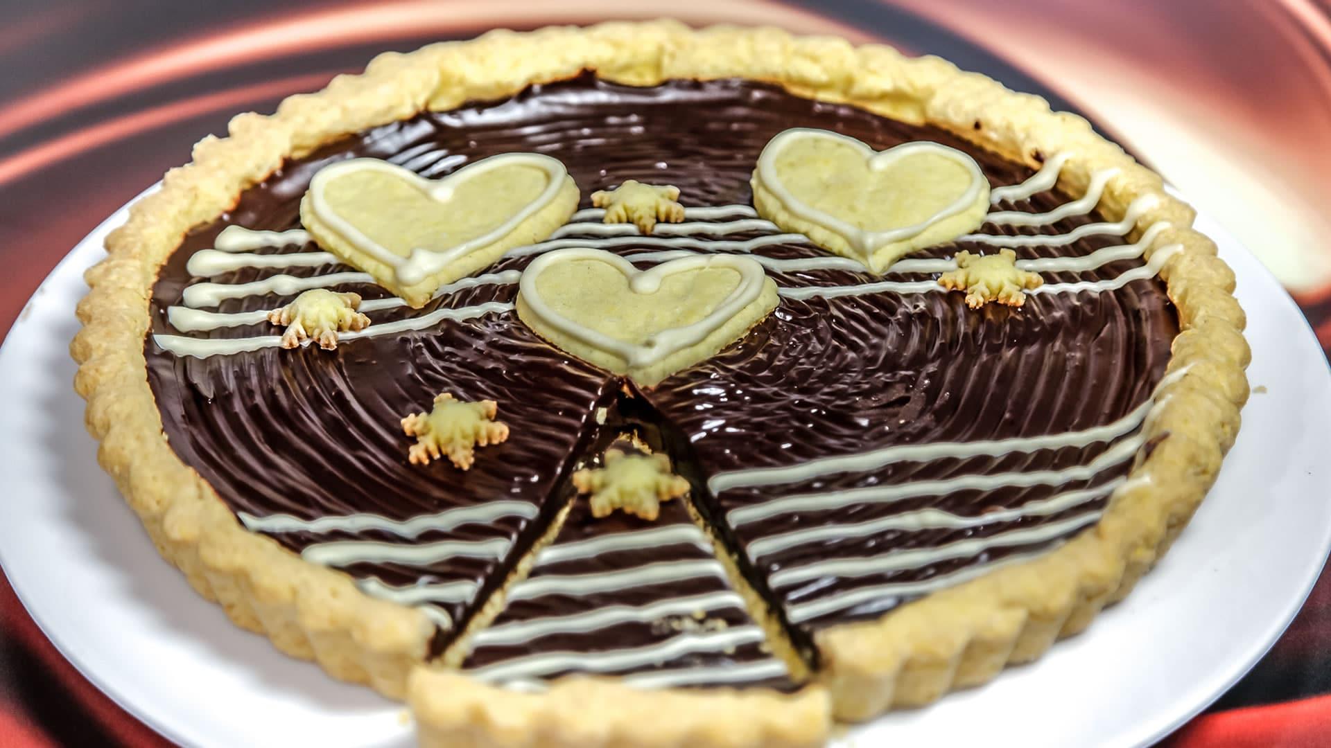 Foto Crostata al Cioccolato Perfetta
