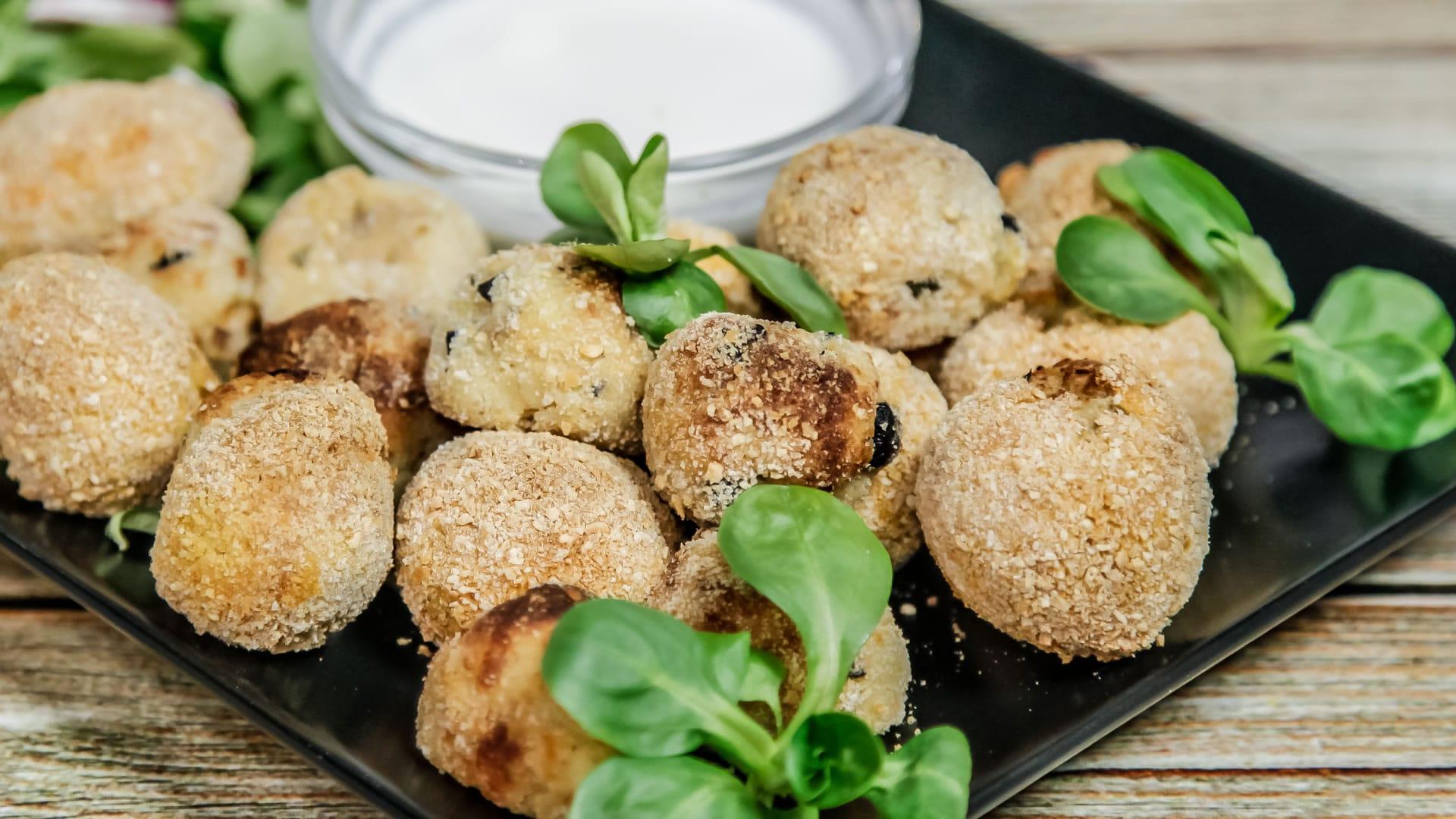 Foto Polpette di Patate e Tonno - Fritte Senza Olio - Friggitrice ad Aria