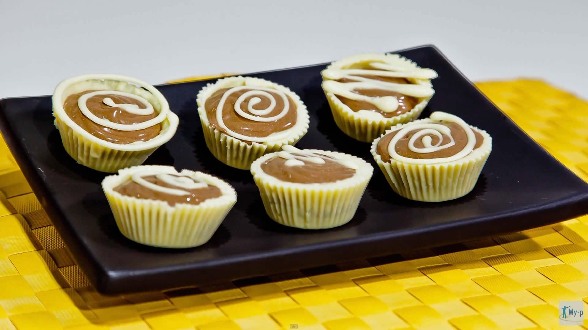 Foto Pasticcini di cioccolato