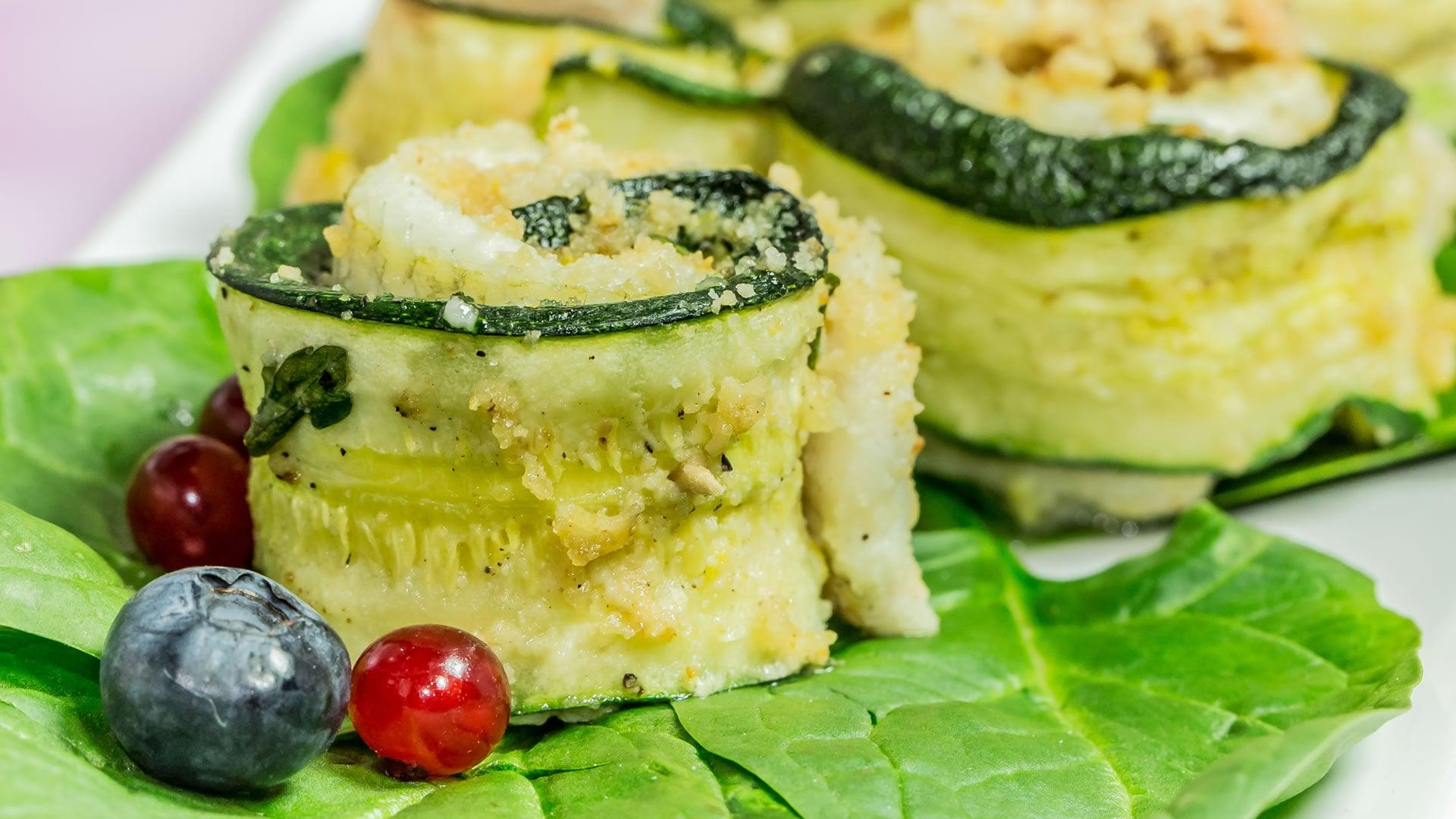 Foto Turbanti di Pesce Gratinati al forno - Senza Glutine