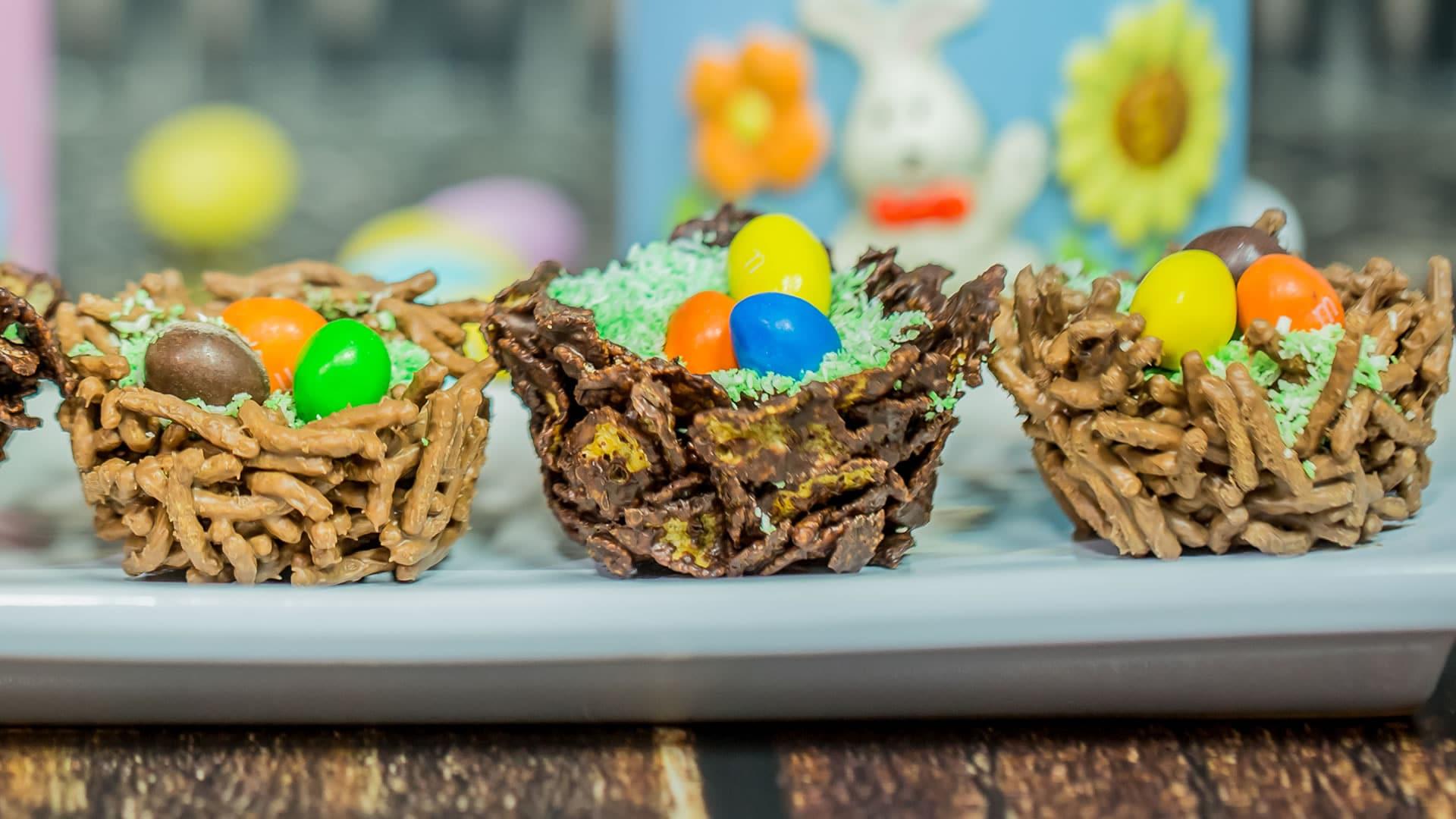 Foto Nidi di Cioccolato per Pasqua