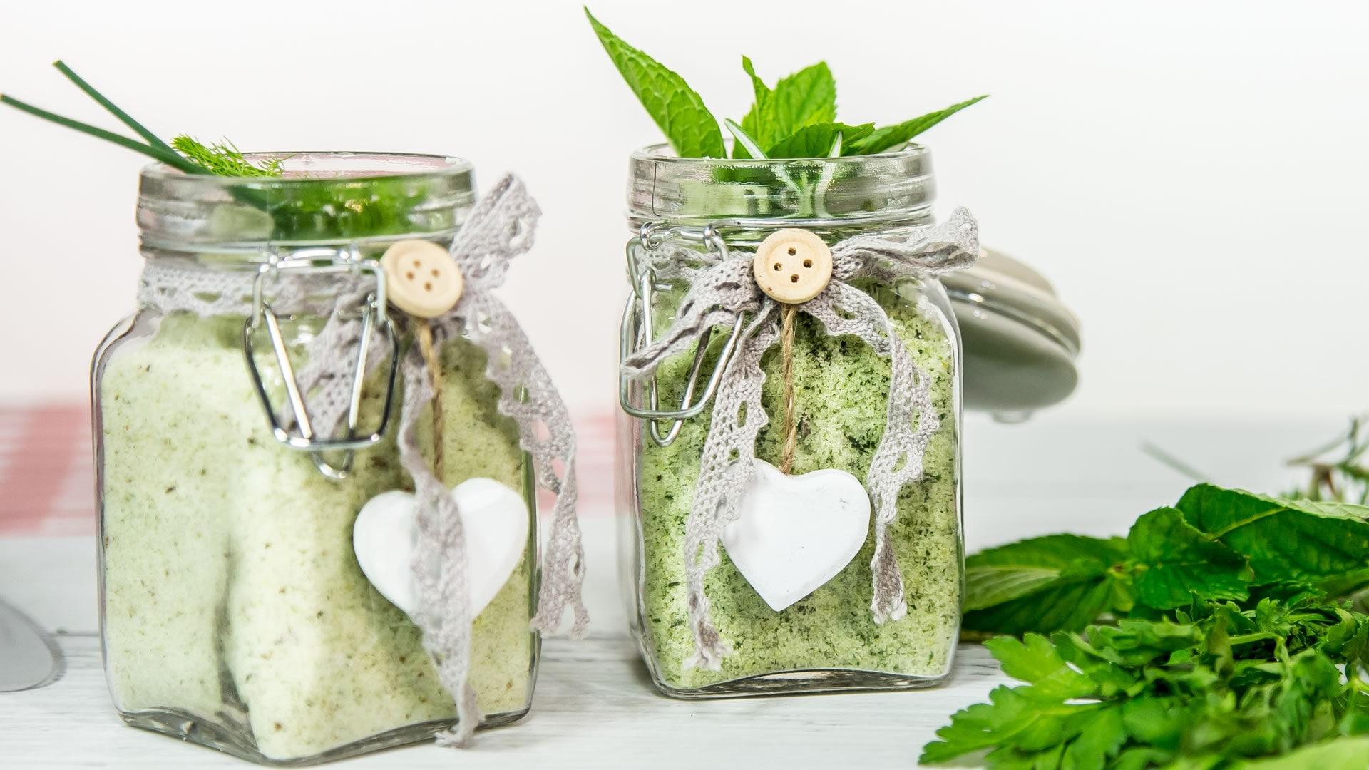 Foto Sale Aromatizzato per Verdure, Carni e Pesci