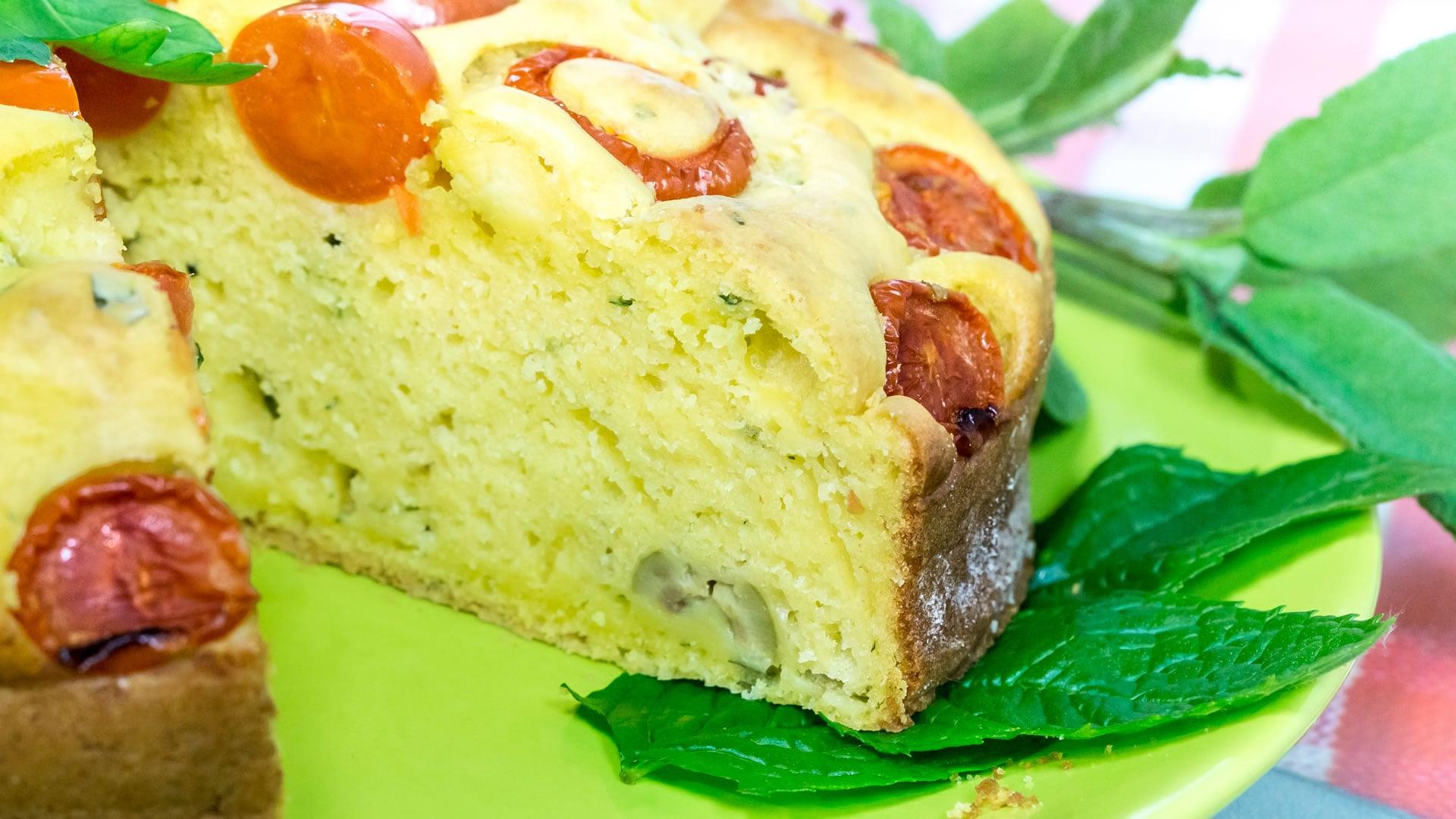 Foto Torta allo Yogurt Salata