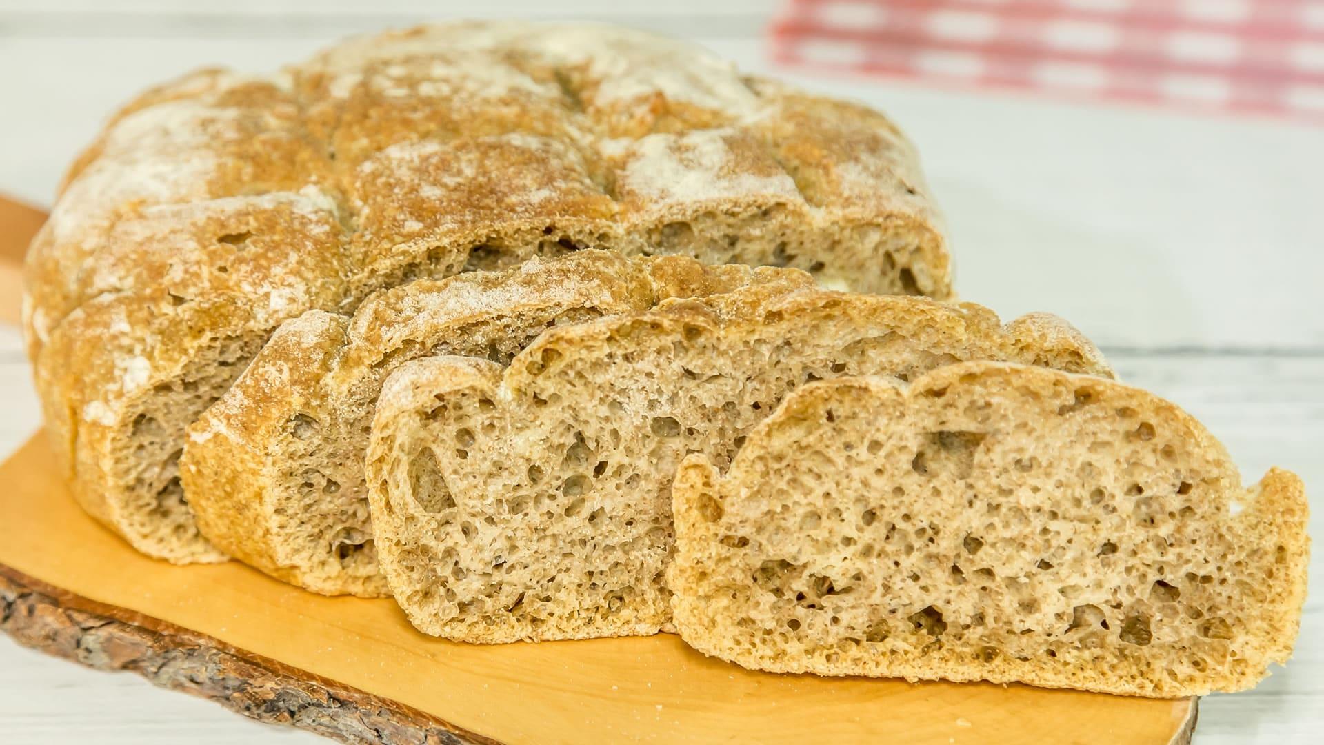 Foto Pane Integrale Senza Impasto - No Knead Bread