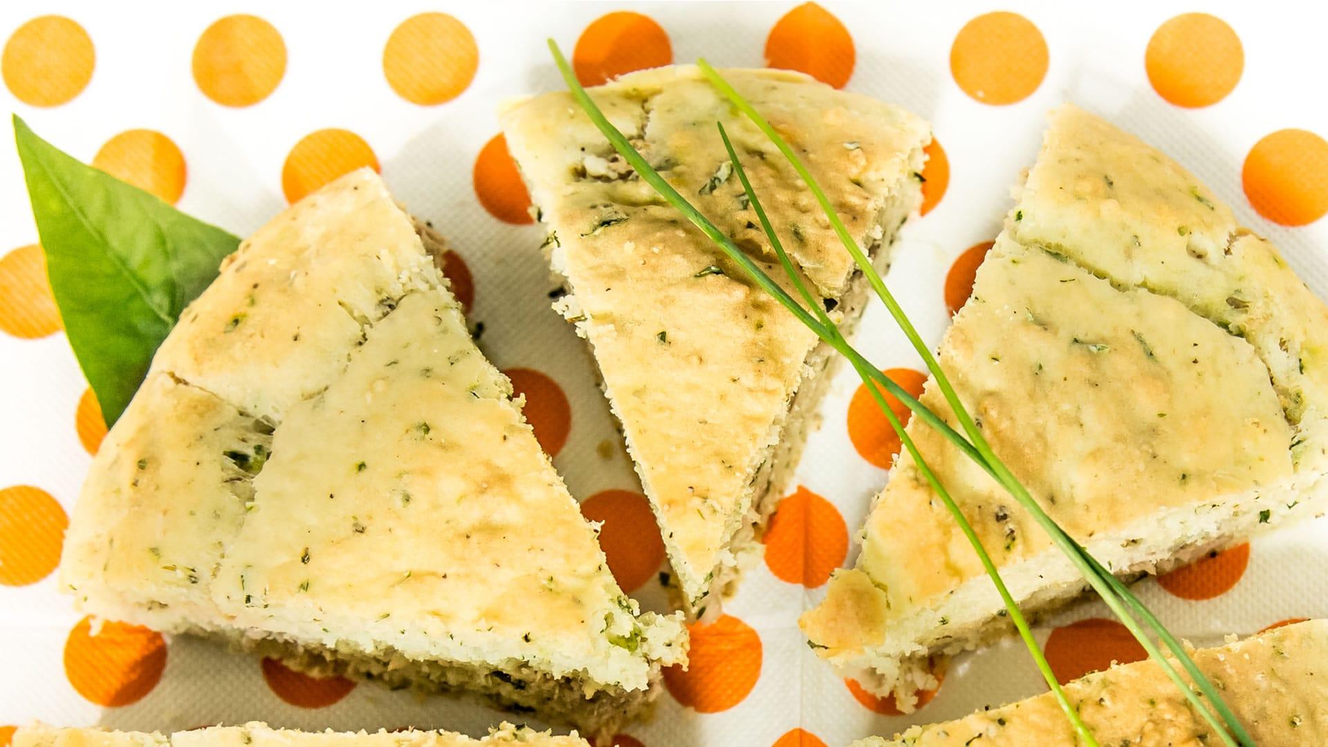 Foto Torta Salata all'Acqua - Facile e Veloce - Senza Uova, Burro e Latte