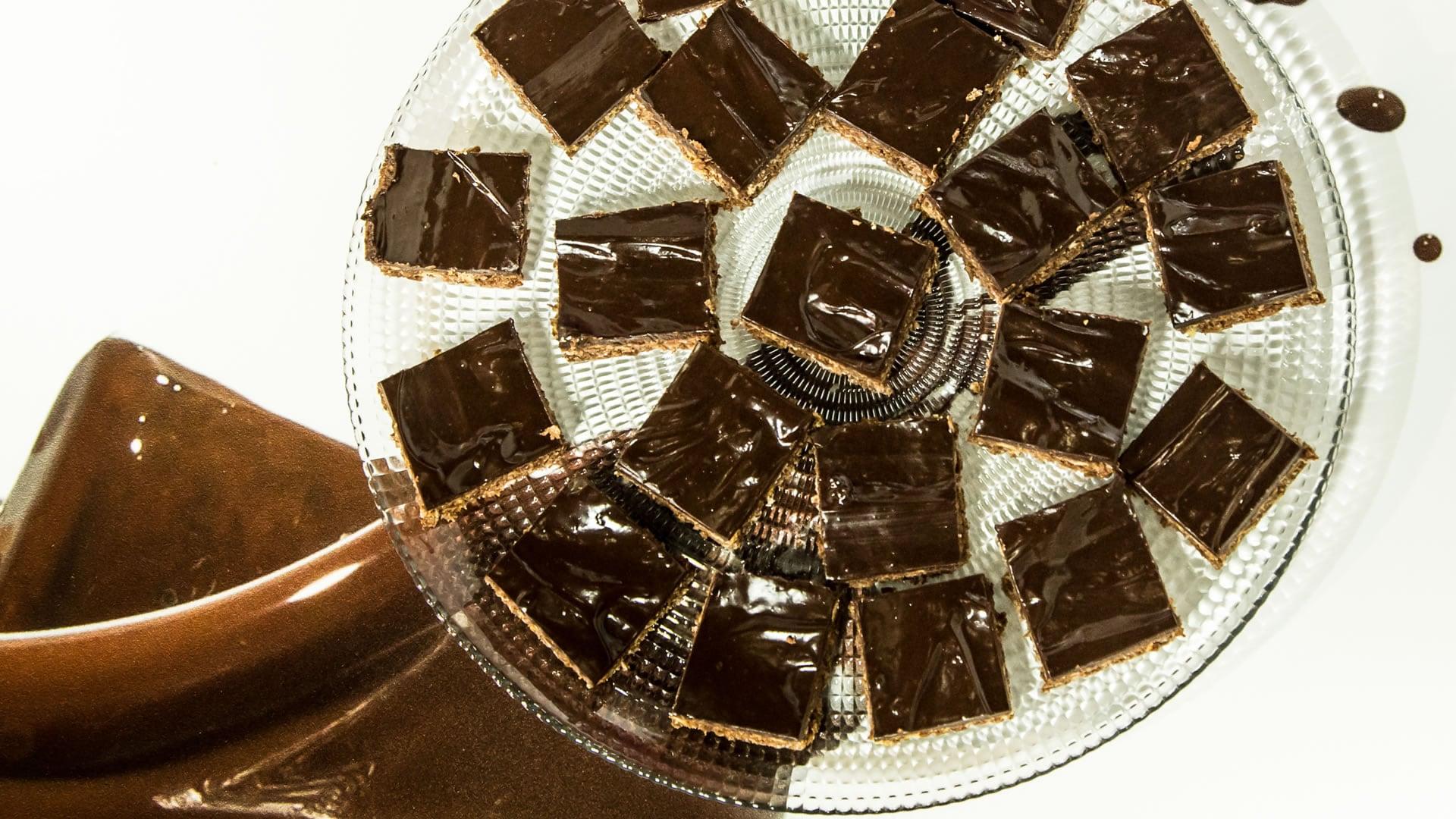 Foto Biscotti al Cioccolato Senza Cottura