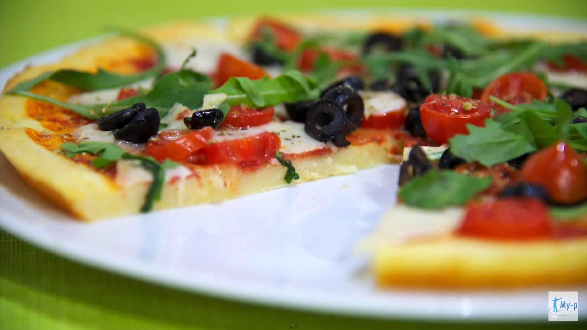 Foto Pizza alle patate senza glutine