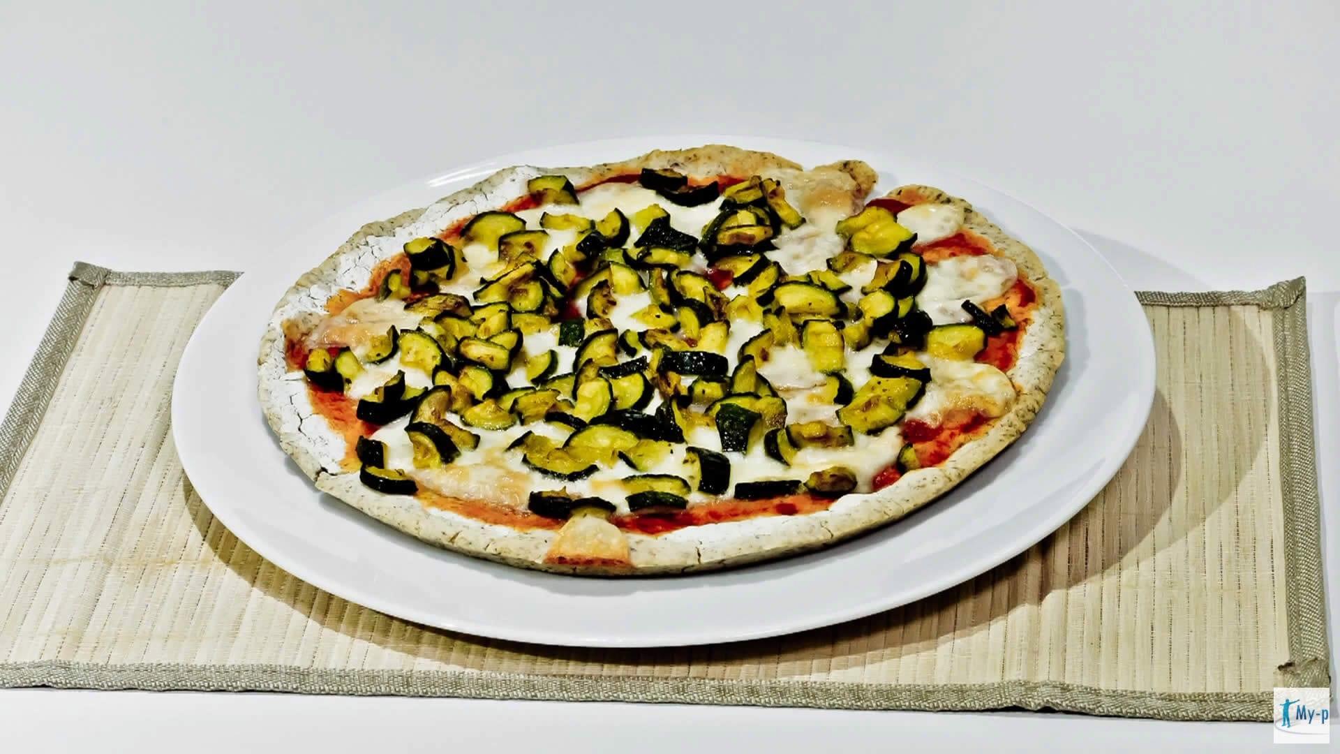 Foto Pizza croccante senza glutine con grano saraceno