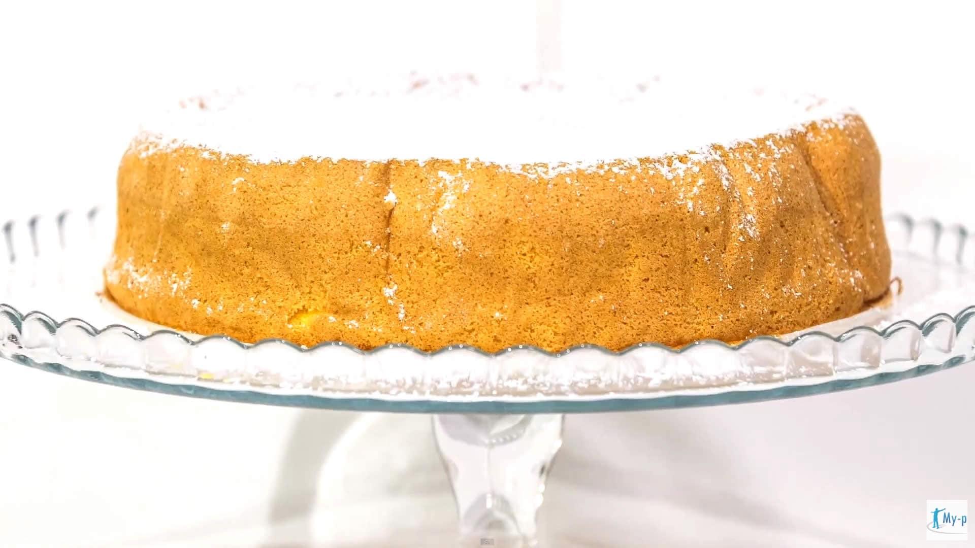 Foto Torta margherita senza burro e senza glutine