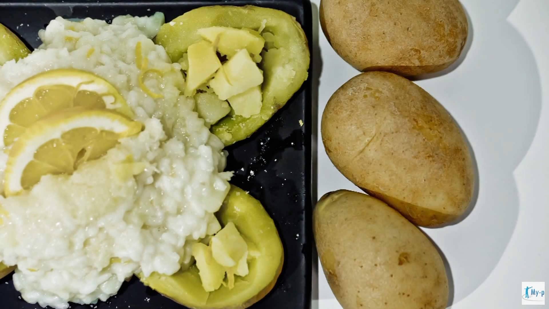 Foto Riso con patate, limone e grana - ricetta funzionale contro diarrea ed influenza intestinale