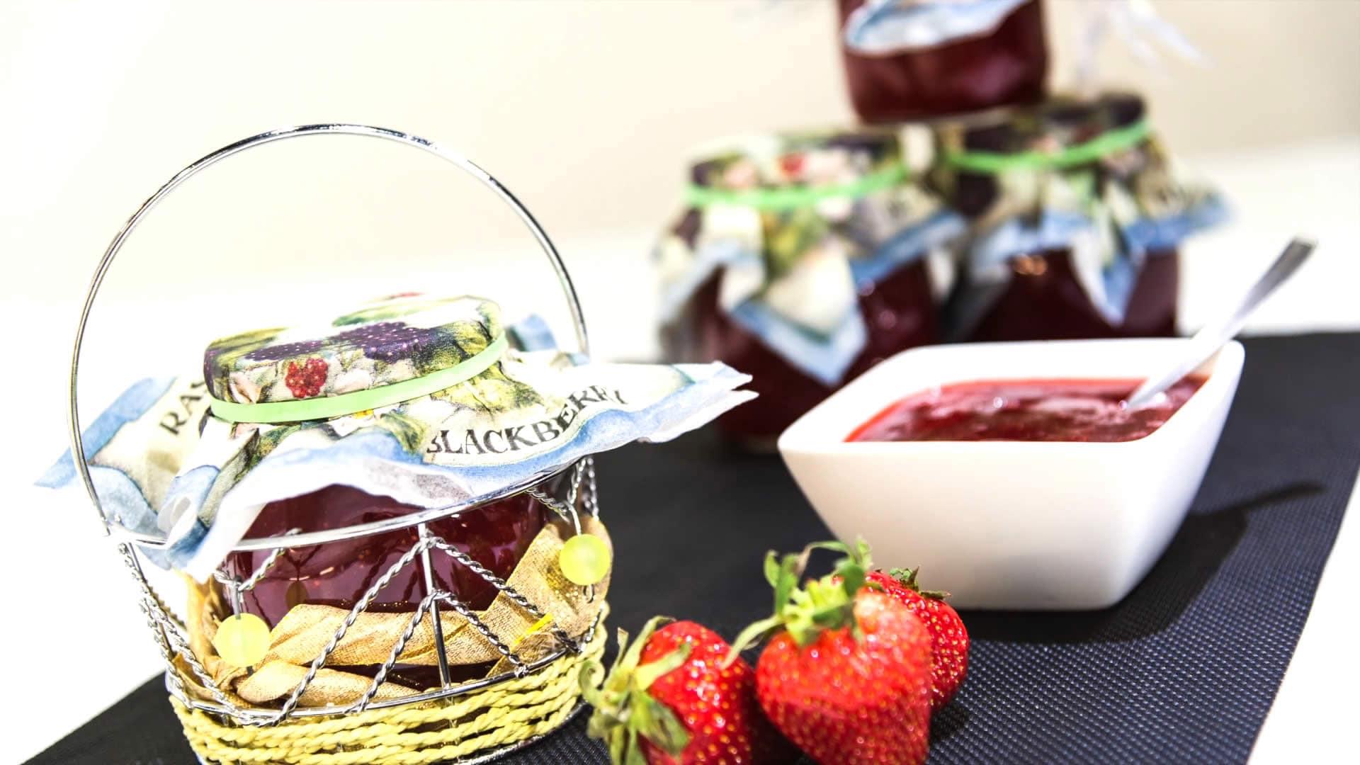 Foto Marmellata alle fragole - come preparare la marmellata in casa