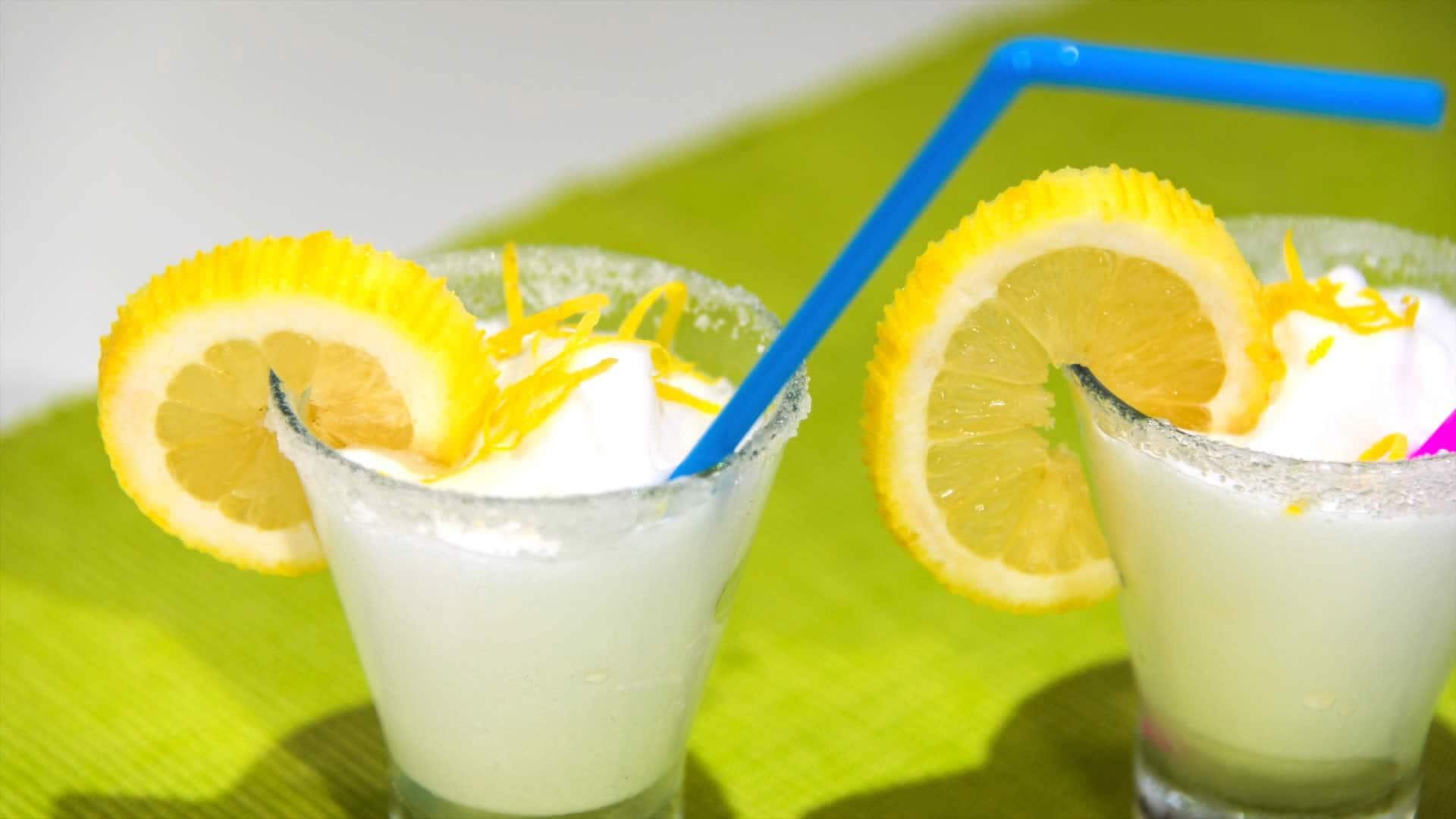 Foto Sorbetto al limone e sambuco