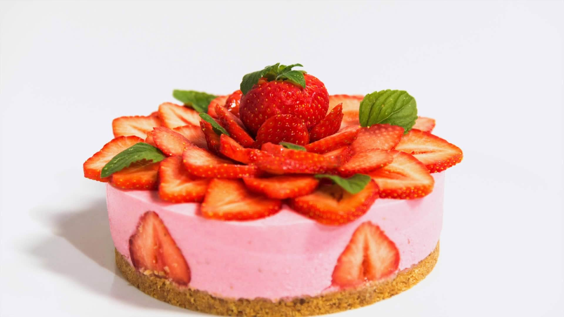 Foto Cheesecake alle fragole