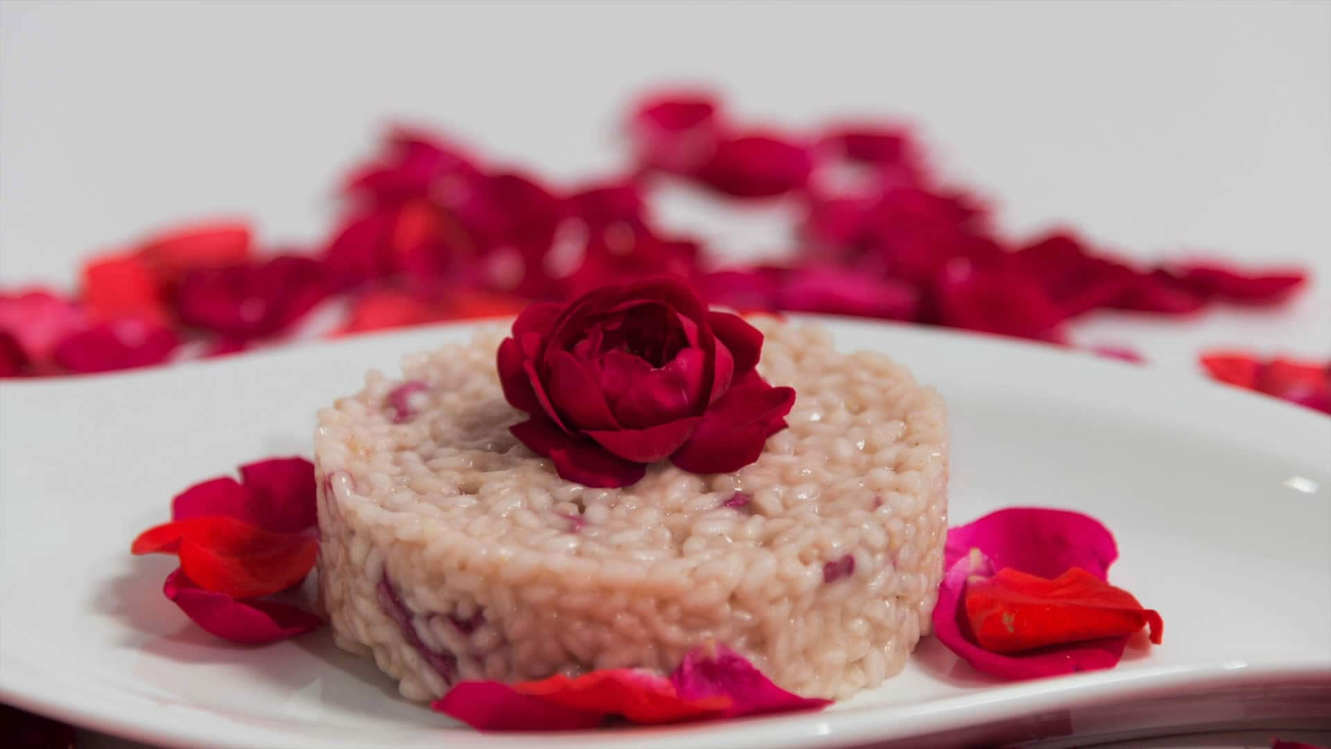 Foto Risotto con le Rose