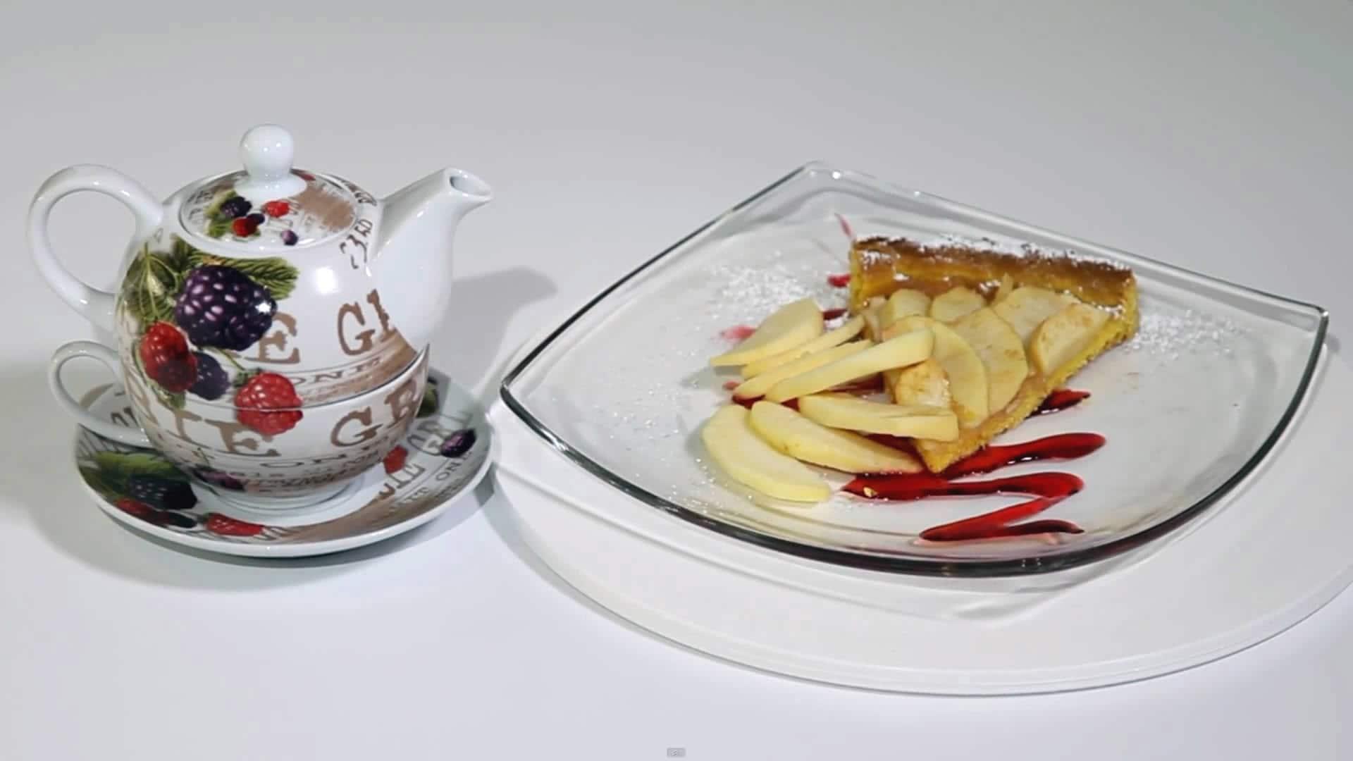 Foto Crostata con il fruttosio farcita alle mele