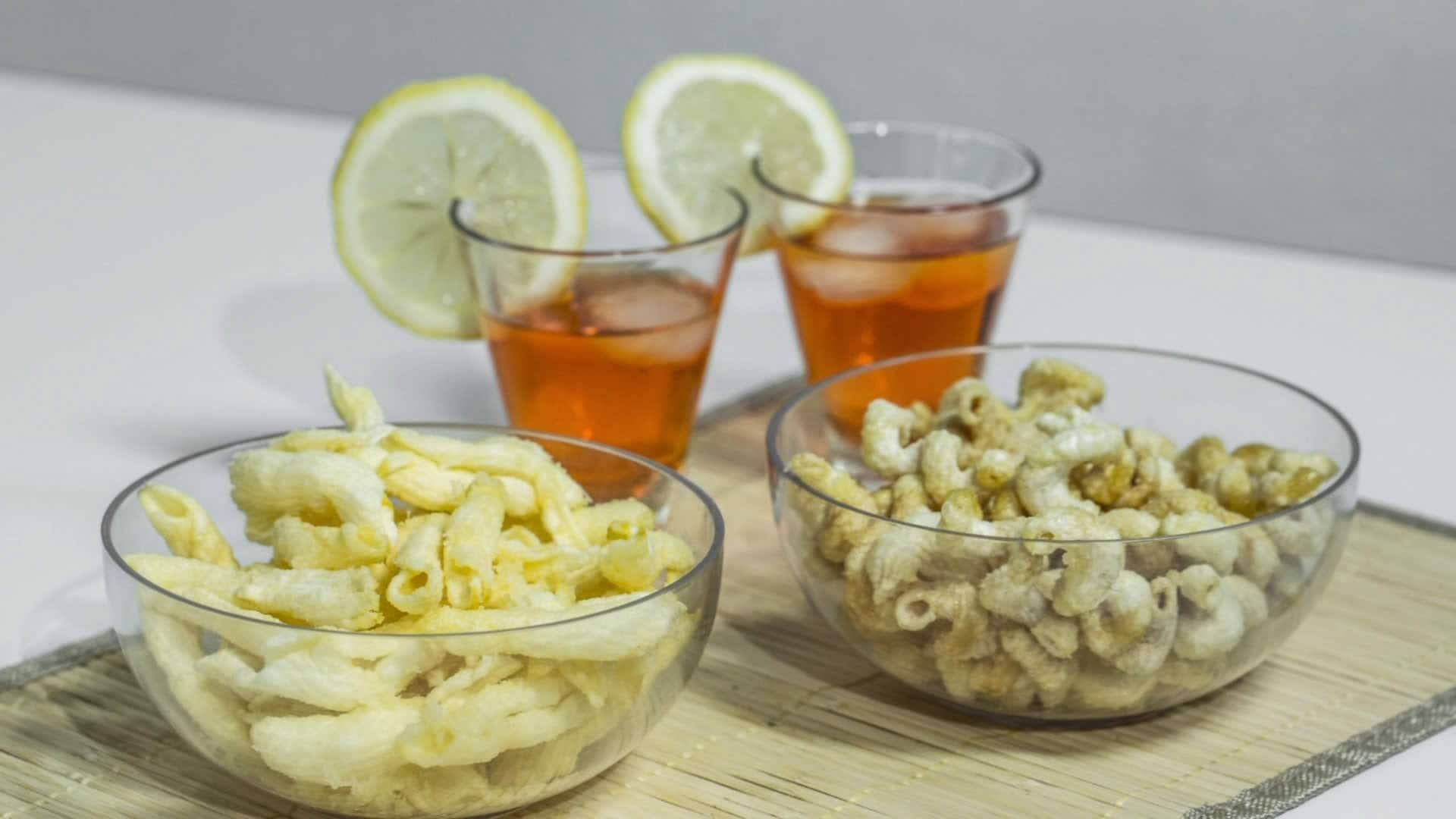 Foto Snack Tipo Fonzies, Dixi, Patatine Chips - Ricetta per Farli in Casa