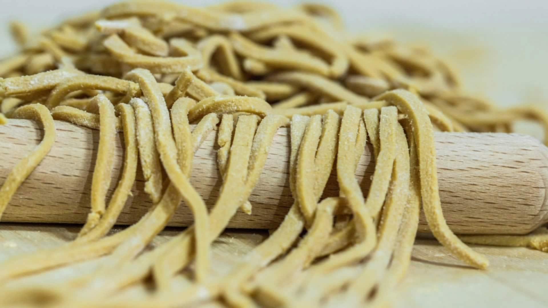 Foto Pasta di Soia fatta in casa - Ricetta di Base per la Pasta di Soia