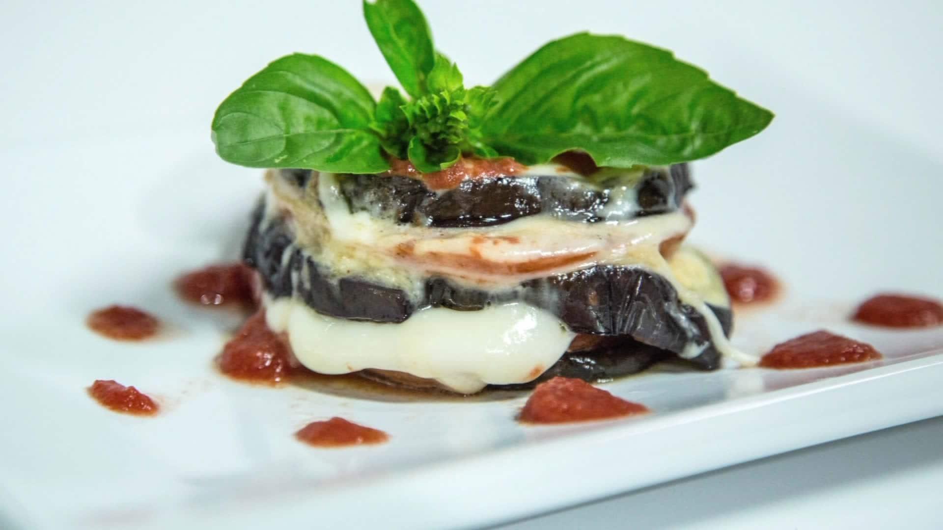 Foto Melanzane alla Parmigiana Light – Non fritte