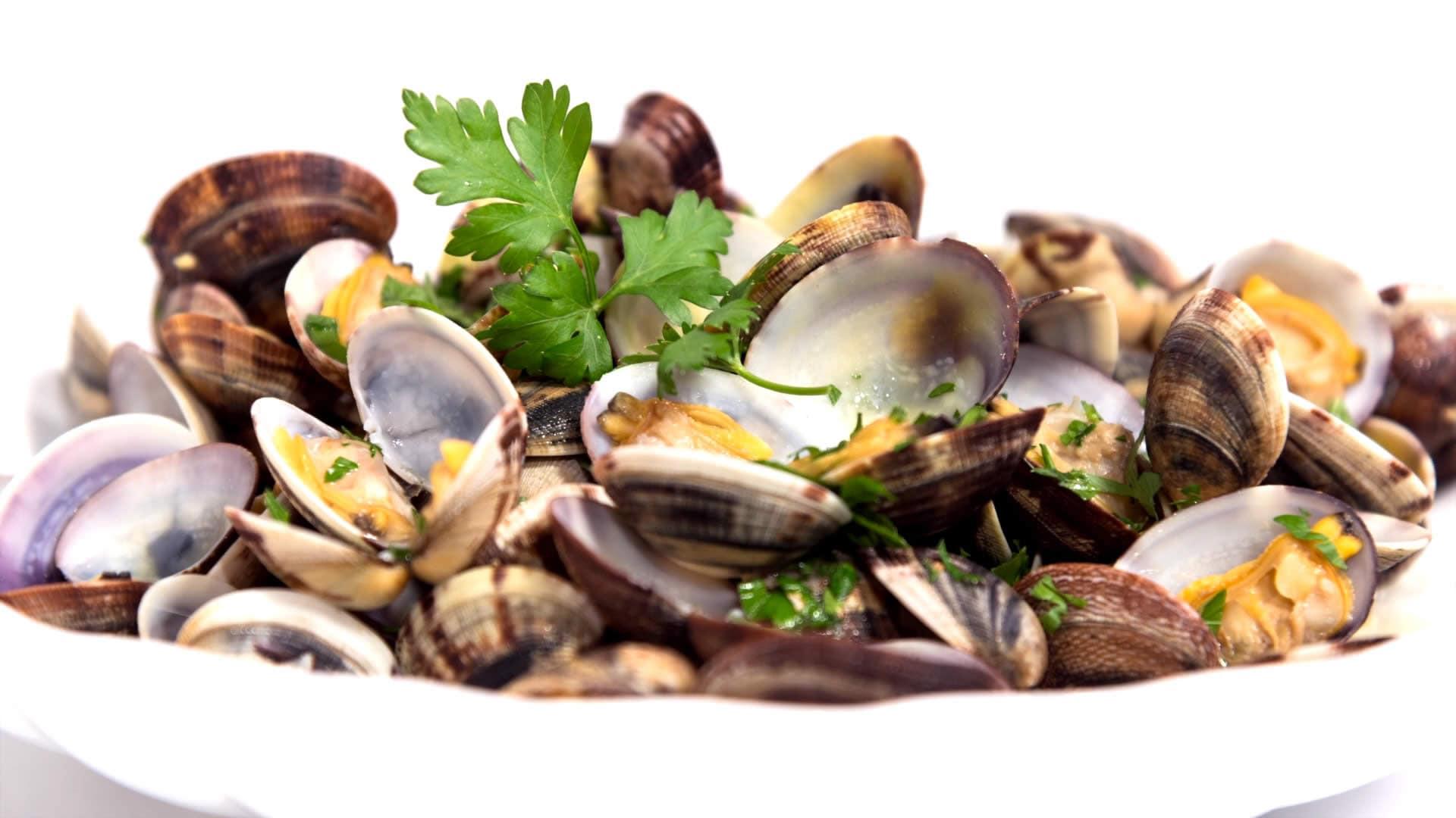Foto Pulire e Cuocere le Vongole – Vongole alla Pescatora