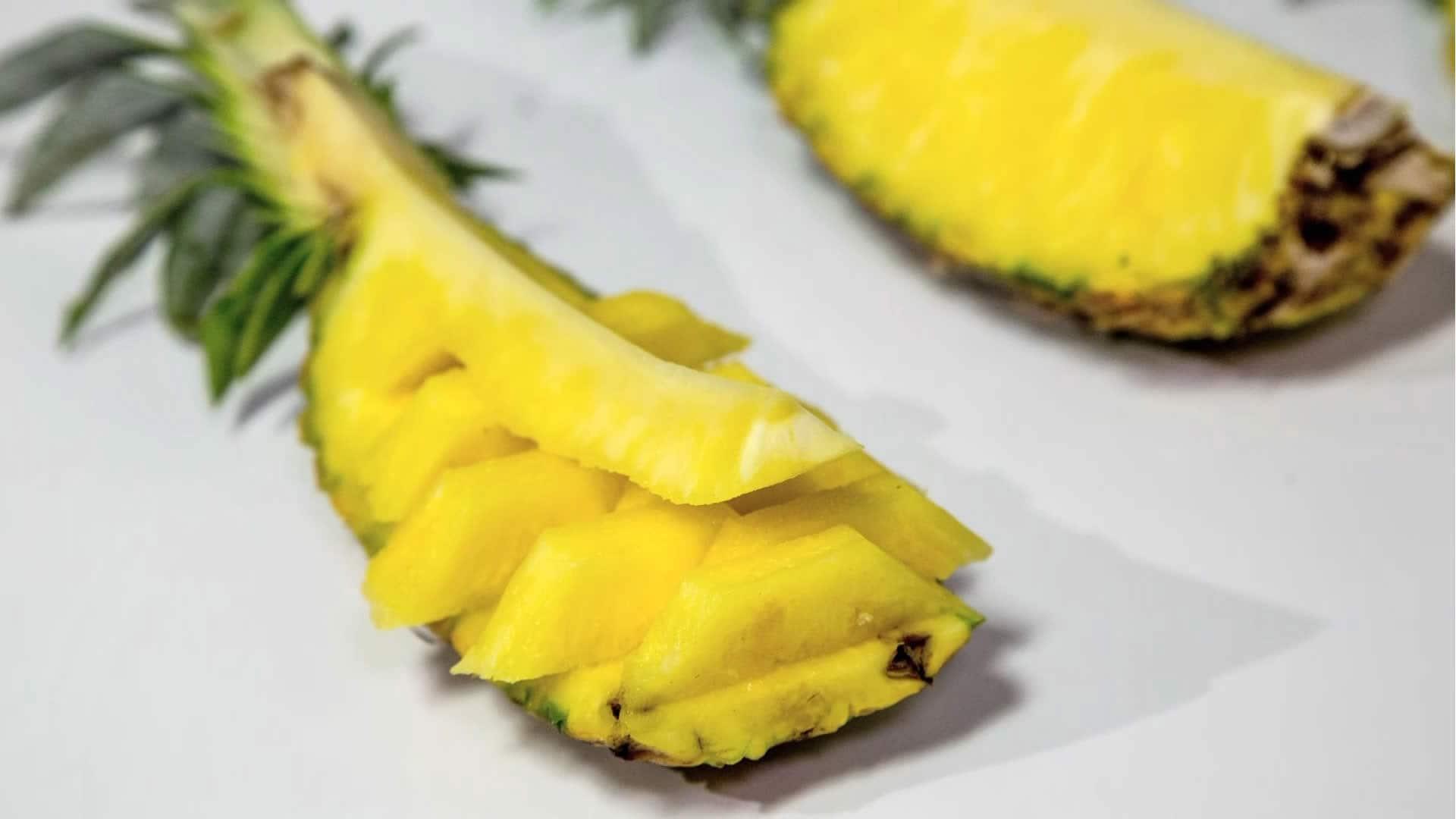Foto Come Tagliare l'Ananas