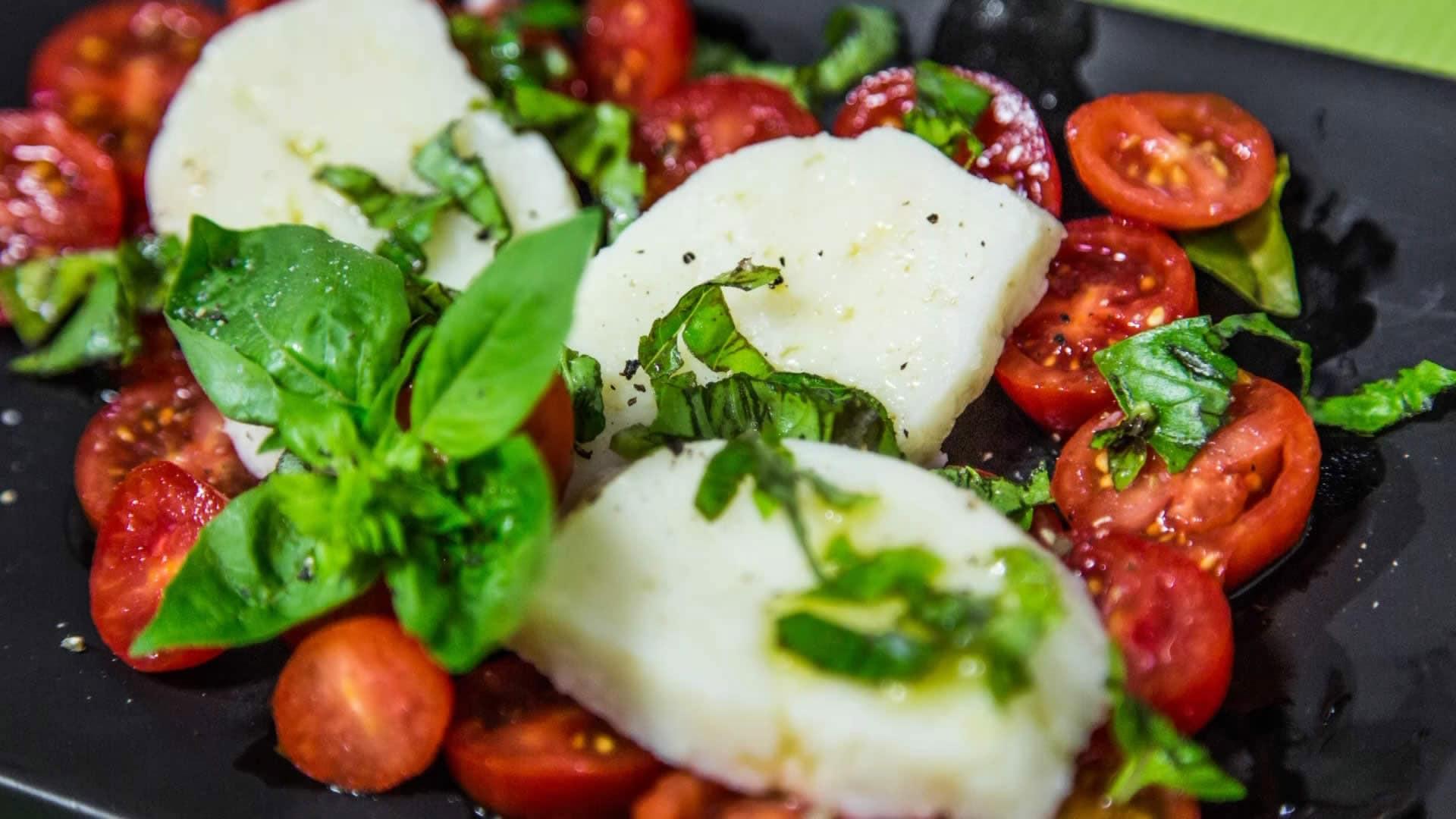 Foto Mozzarella Vegana - Mozzarella Vegetale Senza Colesterolo