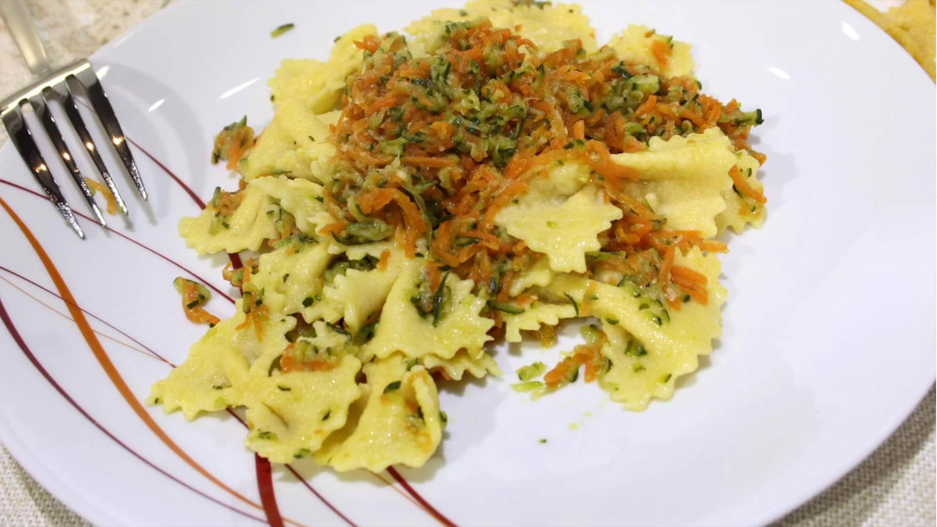 Foto Pasta Proteica con Verdure - Pasta per Diabetici