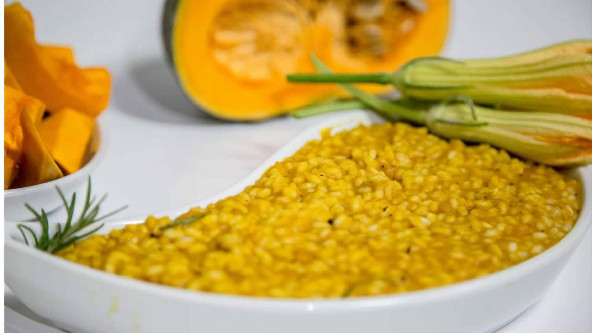 Risotto con zucca e rosmarino for Risotto ricette
