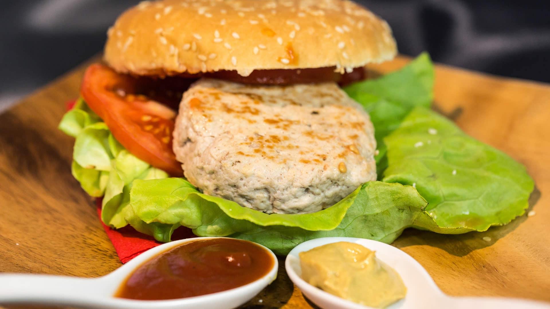 Foto Hamburger di Carne Fatti in Casa