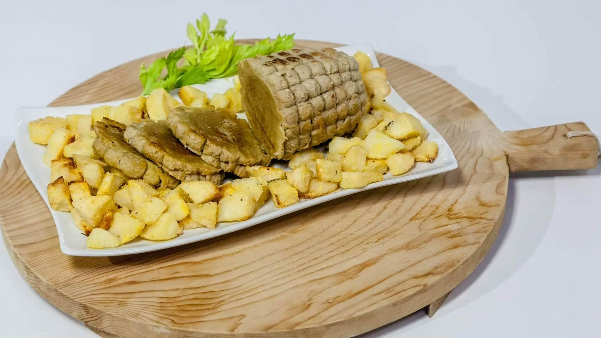 Foto Muscolo di Grano Fatto in Casa – Carne per Vegetariani