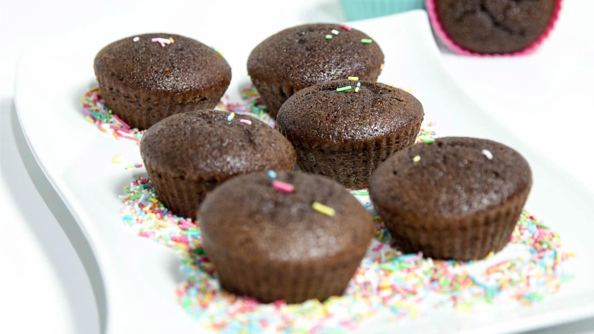 Foto Muffin al Cacao Senza Burro – Muffin per celiaci