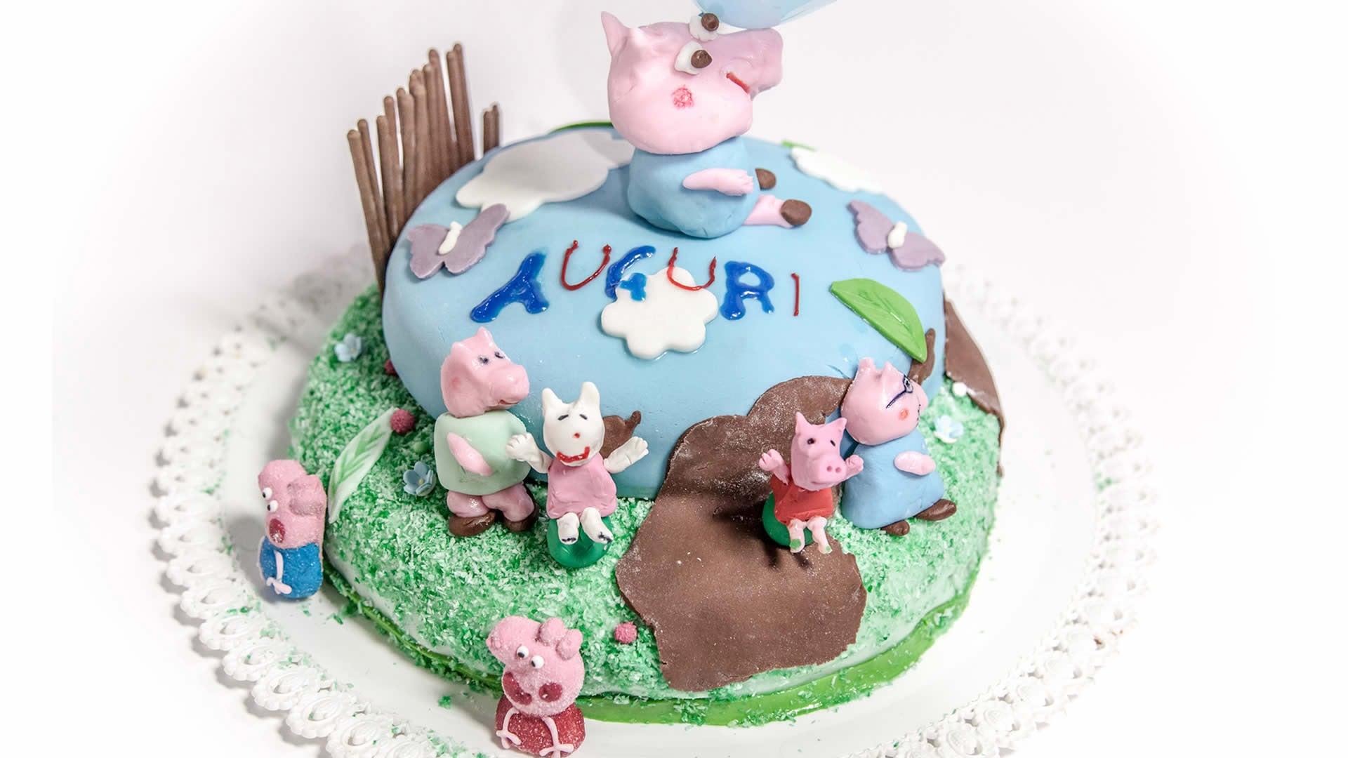 Foto Torta di Compleanno – Torta di Peppa Pig