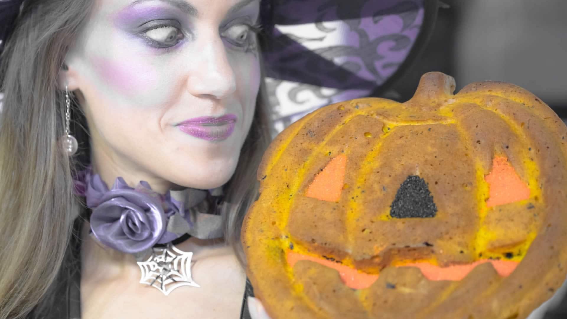Foto Torta di Halloween con Zucca e Cannella