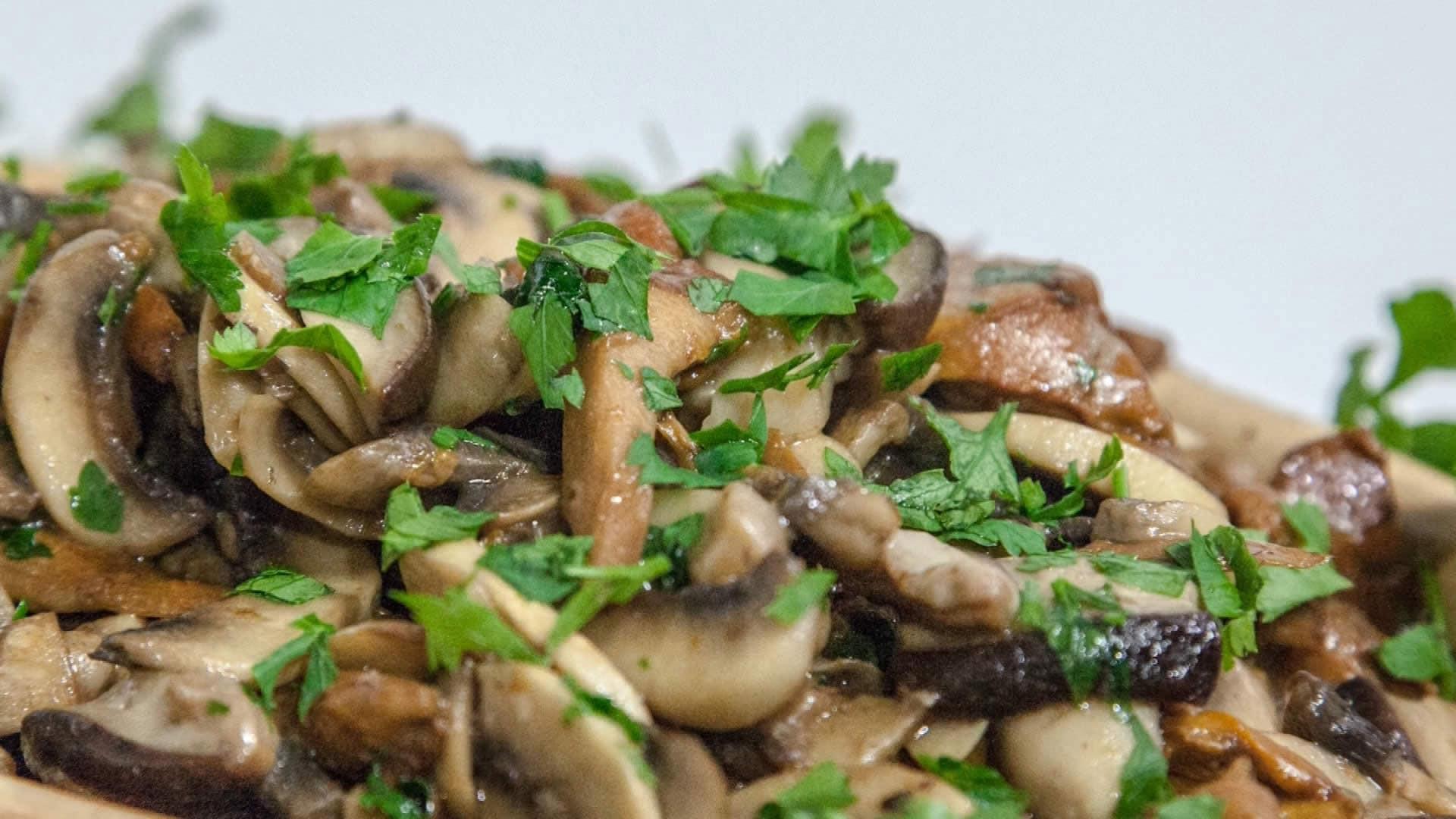Funghi trifolati for Cucinare funghi