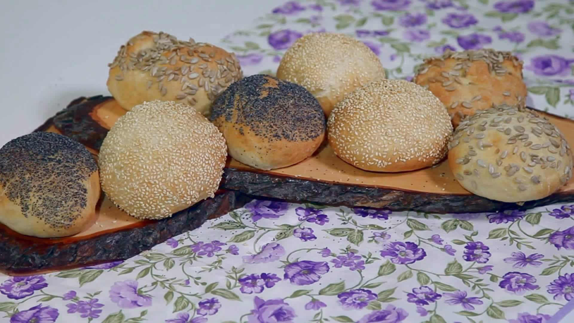 Foto Panini ricoperti di semi
