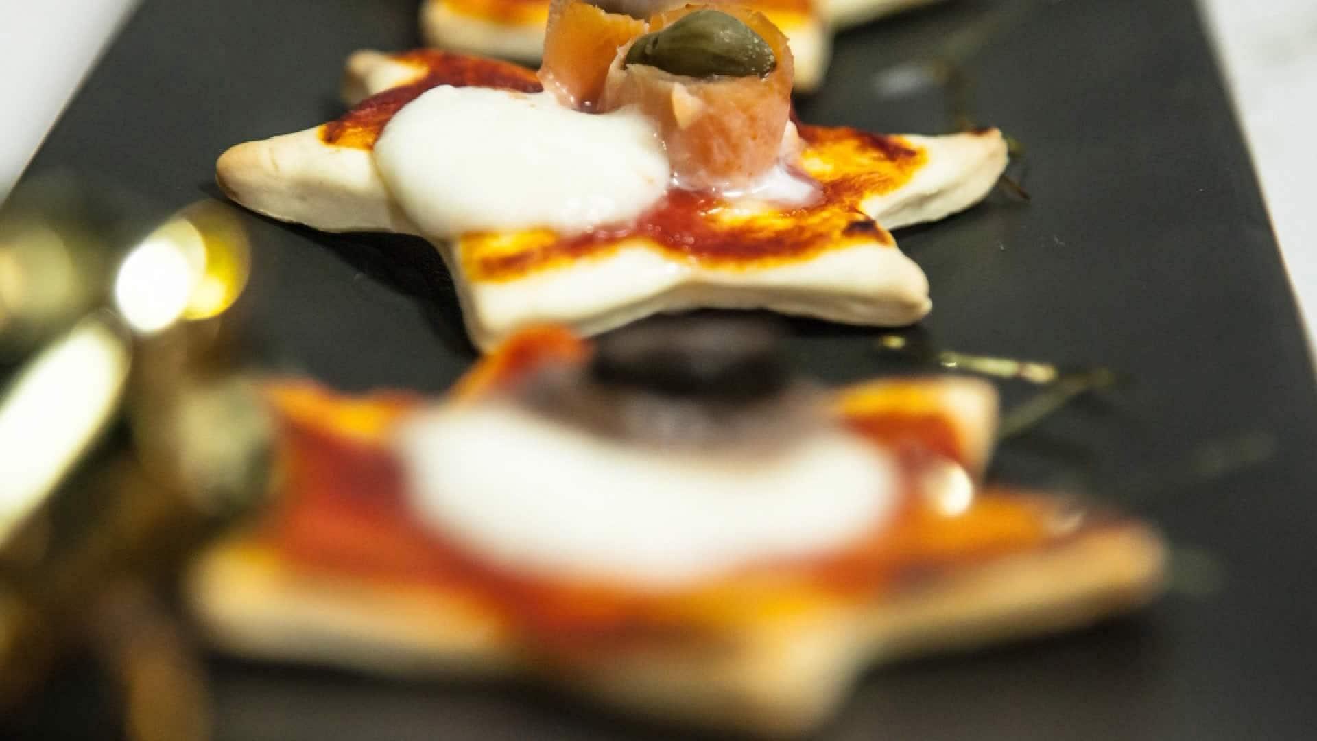 Super Pizzette Natalizie - Antipasto di Natale XM66