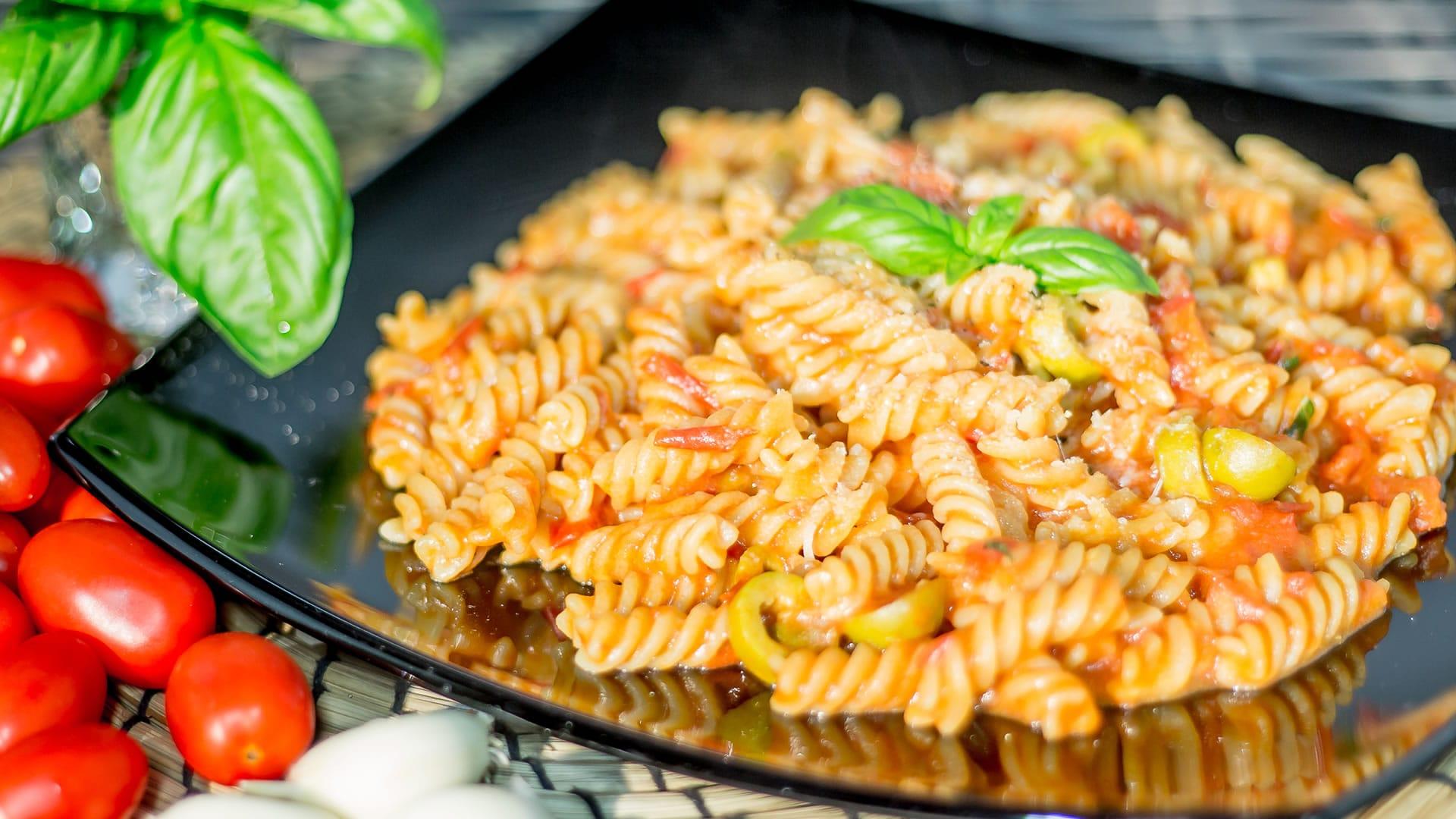 Foto Pasta al Pomodoro Fresco (Pasta Risottata)