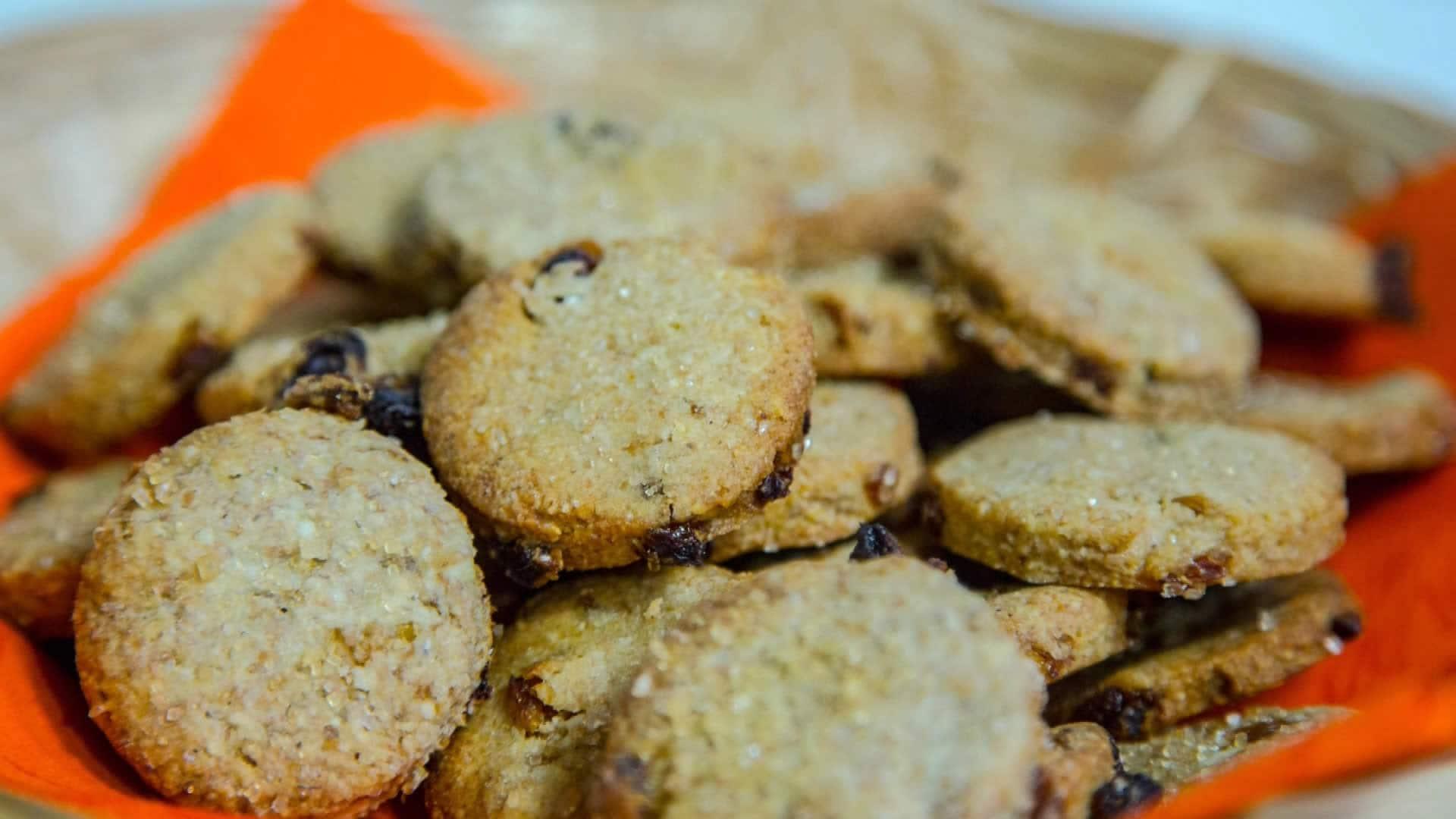 spesso Biscotti Senza Burro e Senza Uova con Frutta Secca - Biscotti Vegan HD15