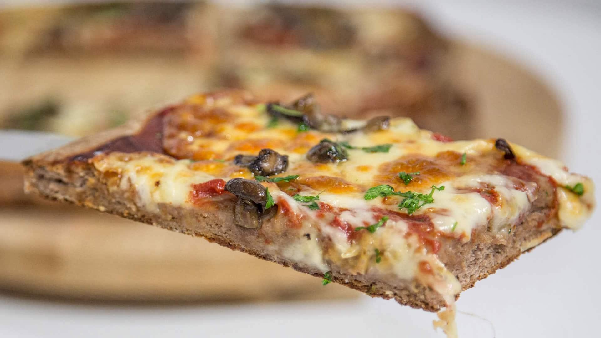 Foto Pizza Soffice con Farina di Castagne